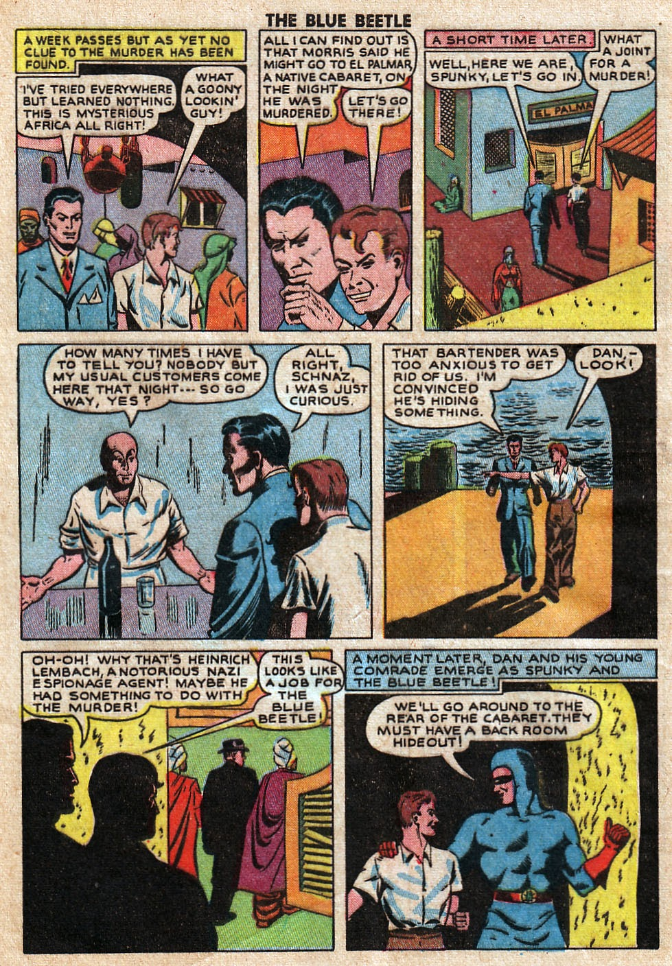The Blue Beetle issue 33 - Page 6