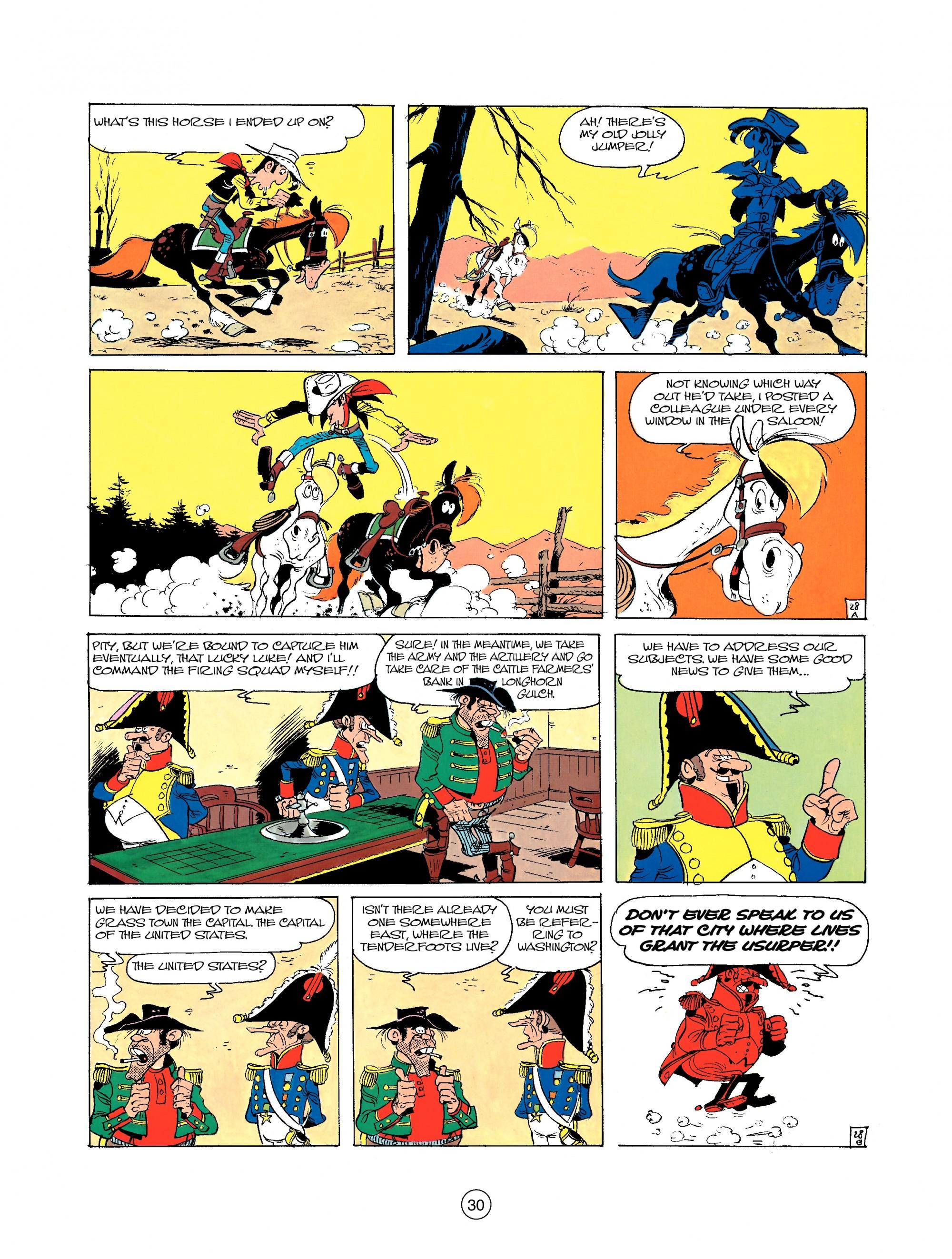 Read online A Lucky Luke Adventure comic -  Issue #22 - 30