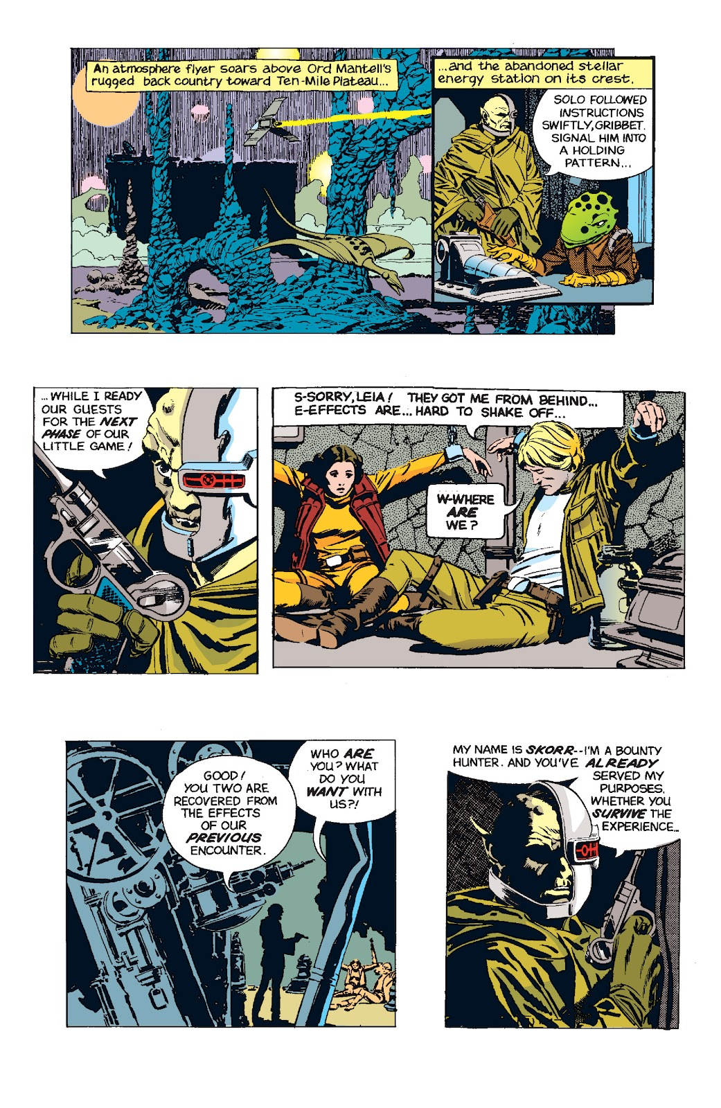 Read online Star Wars Legends: The Newspaper Strips - Epic Collection comic -  Issue # TPB (Part 5) - 9