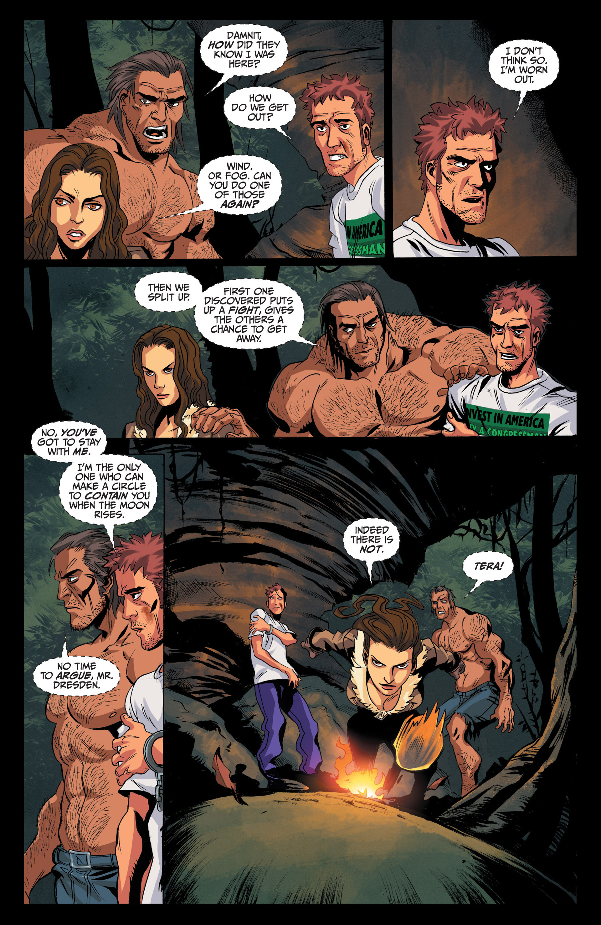 Read online Jim Butcher's The Dresden Files: Fool Moon comic -  Issue #4 - 19