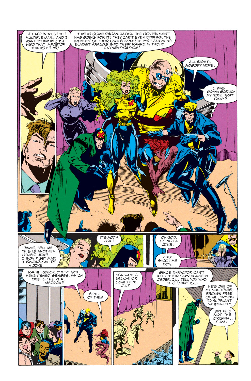 Read online X-Factor (1986) comic -  Issue #73 - 6