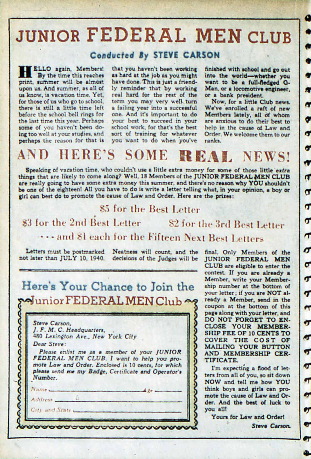 Read online Adventure Comics (1938) comic -  Issue #52 - 40