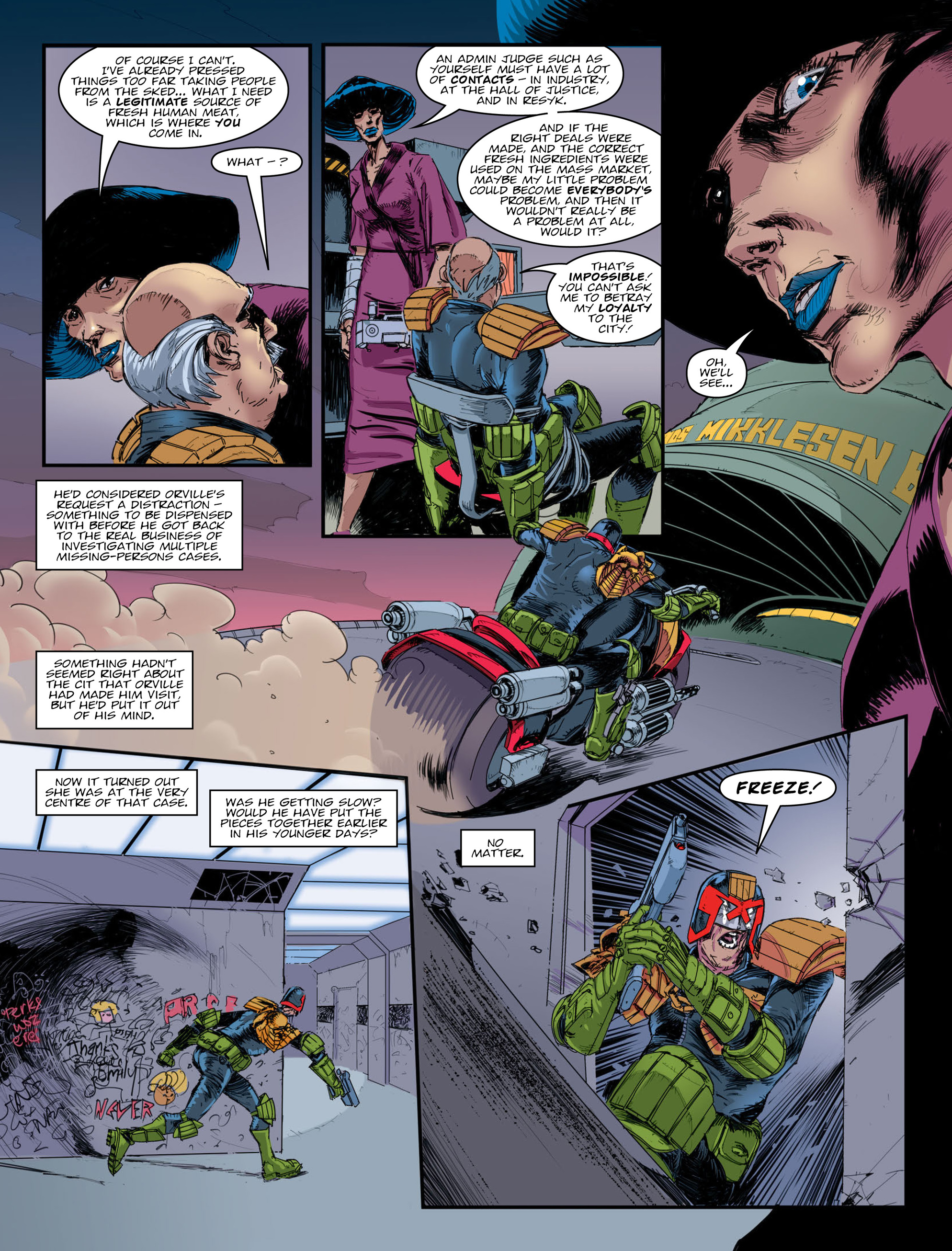 Read online 2000 AD comic -  Issue #2009 - 5