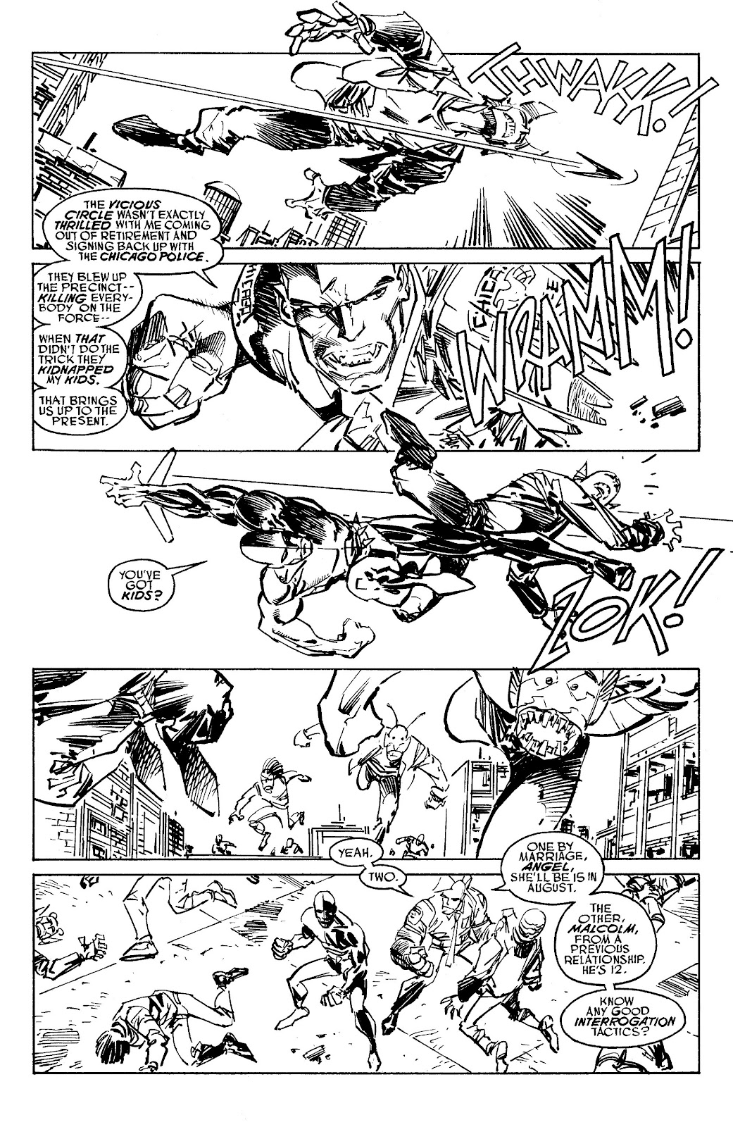 Read online Savage Dragon Archives comic -  Issue # TPB 6 (Part 5) - 36