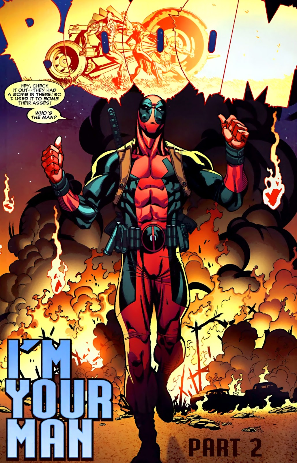 Read online Deadpool (2008) comic -  Issue #28 - 5