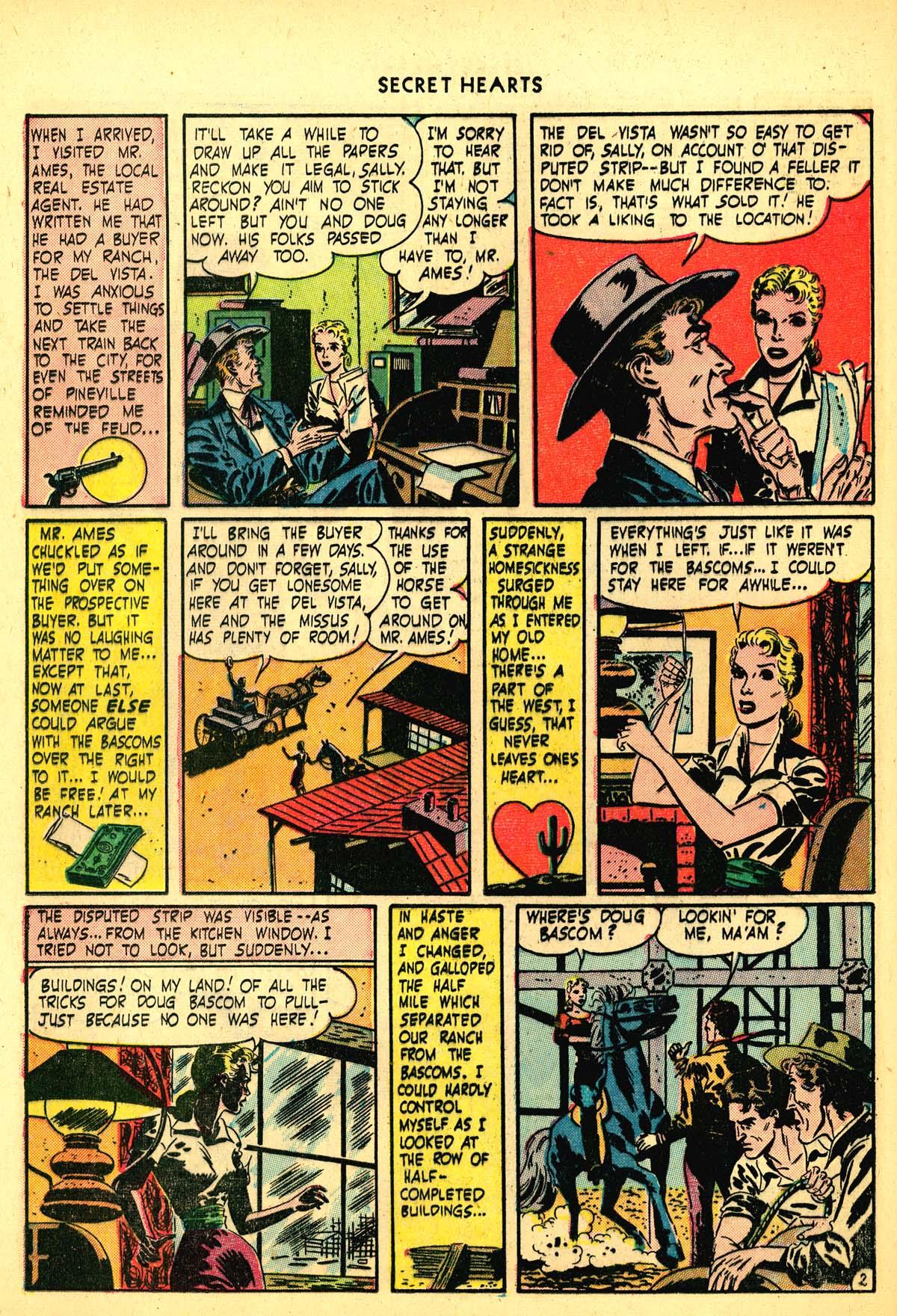 Read online Secret Hearts comic -  Issue #6 - 22