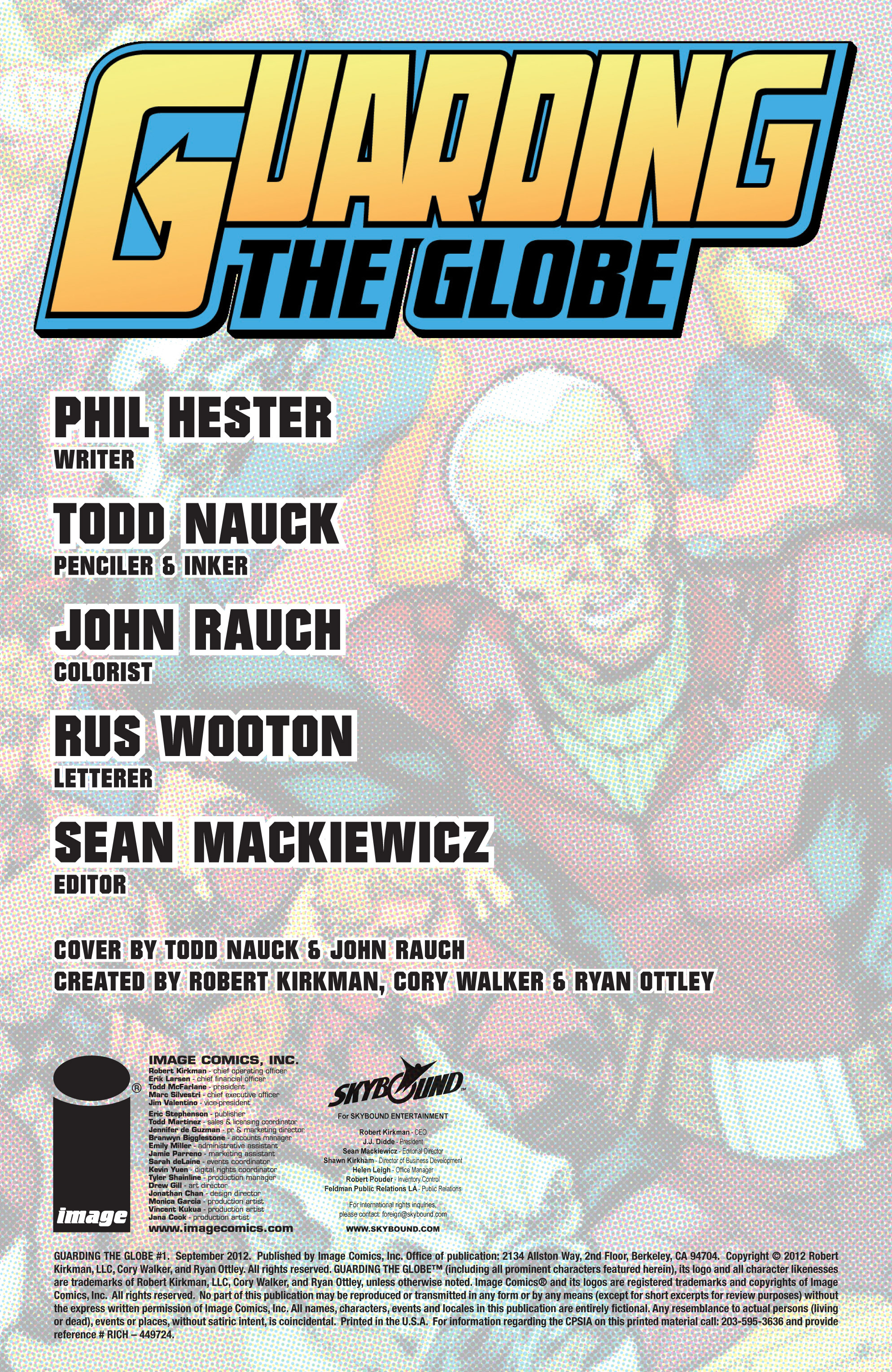 Read online Guarding the Globe (2012) comic -  Issue #1 - 3