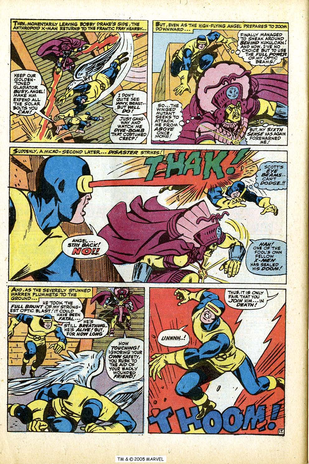 Read online Uncanny X-Men (1963) comic -  Issue #74 - 26