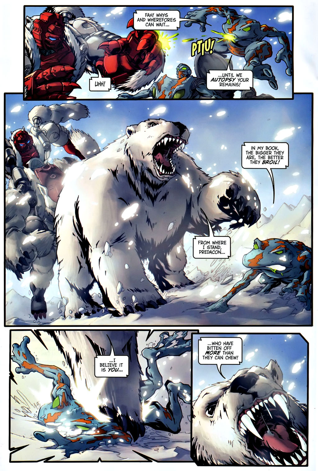Read online Transformers, Beast Wars: The Gathering comic -  Issue #1 - 19