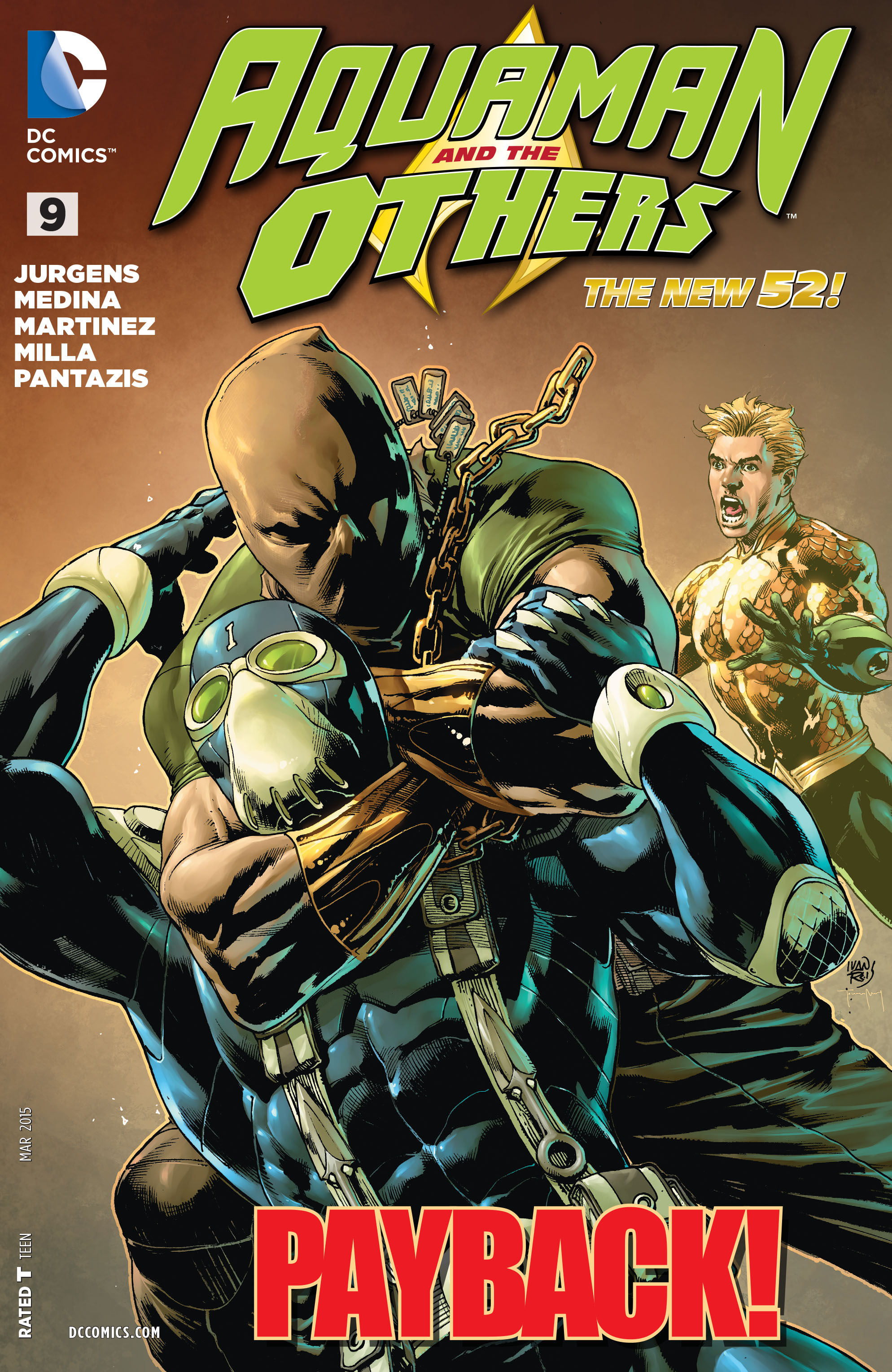Read online Aquaman and the Others comic -  Issue #9 - 1