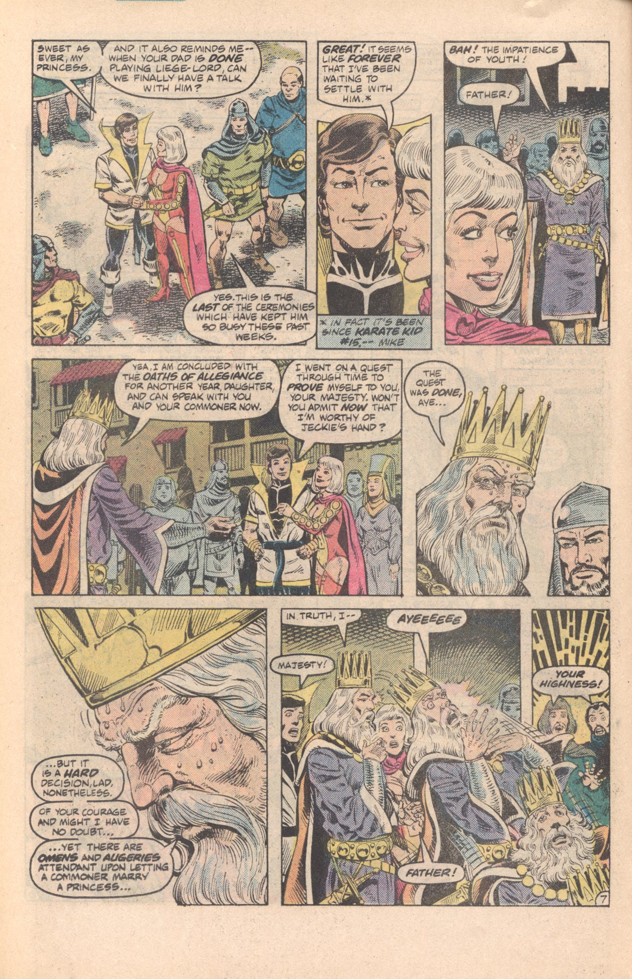 Legion of Super-Heroes (1980) 285 Page 7