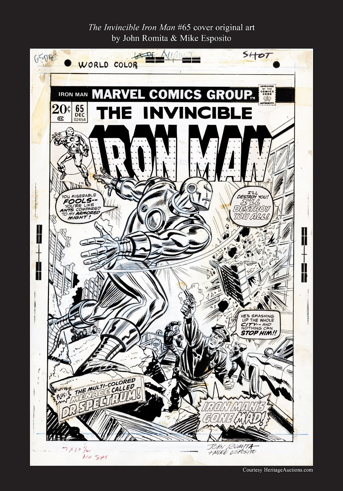 Read online Marvel Masterworks: The Invincible Iron Man comic -  Issue # TPB 9 (Part 3) - 96