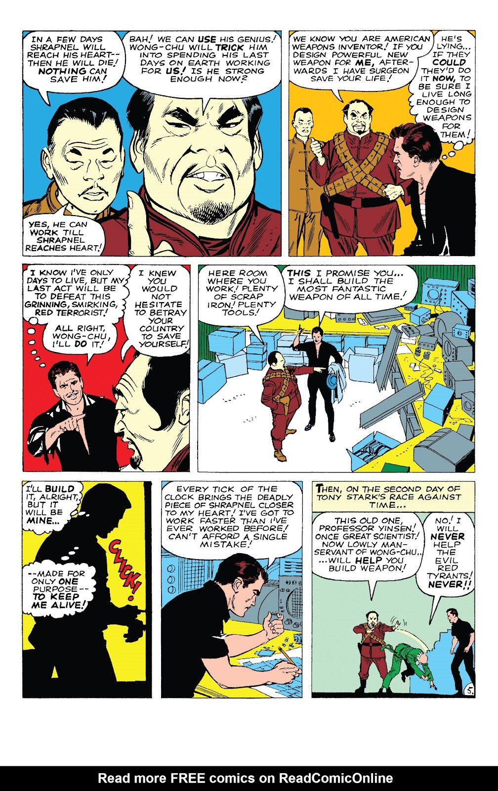 Read online Marvel Tales: Iron Man comic -  Issue # Full - 10