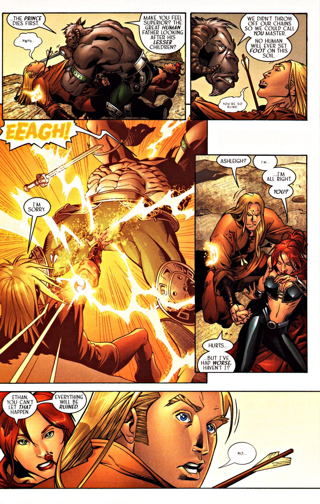 Read online Scion comic -  Issue #27 - 18