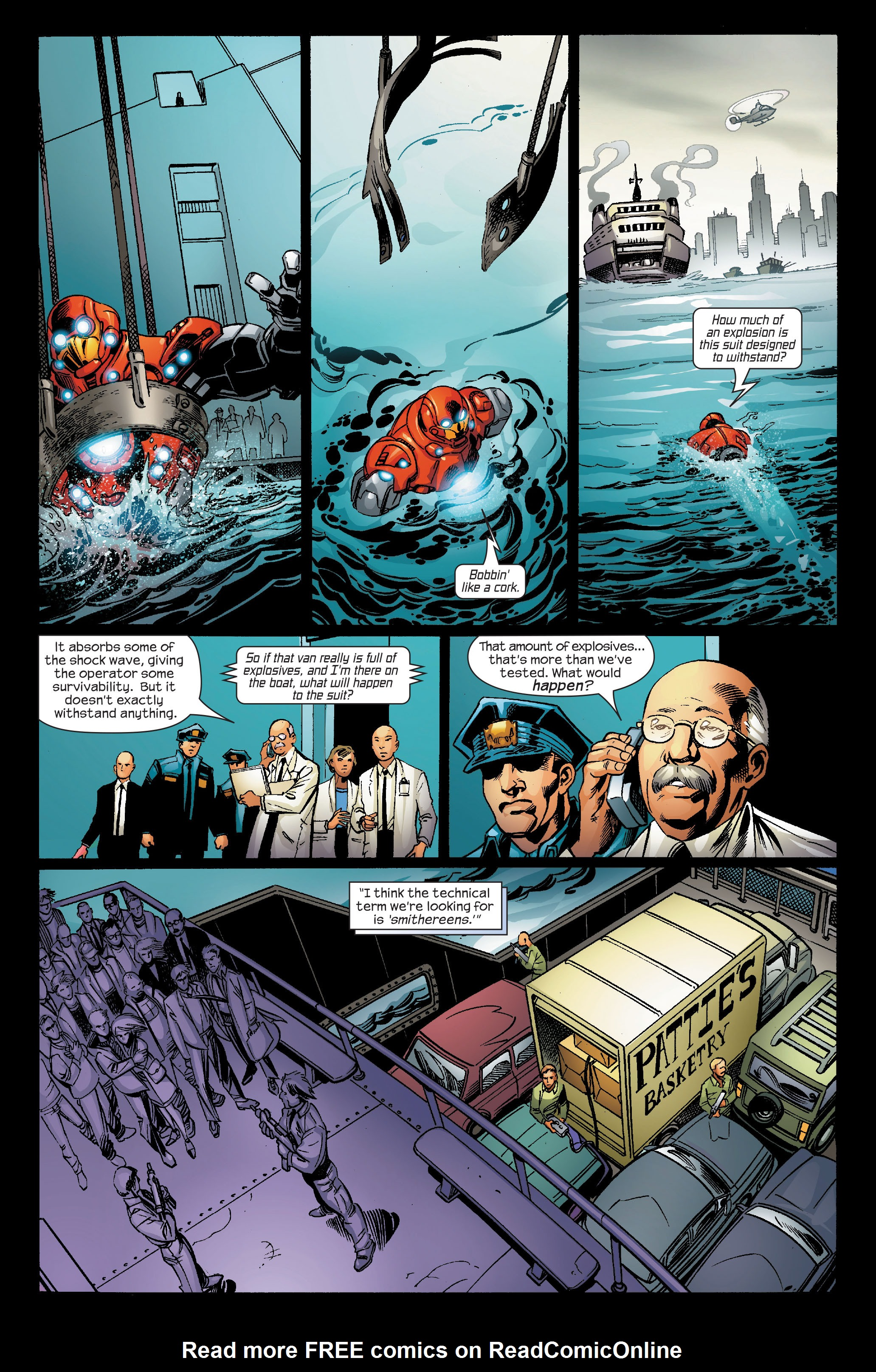Read online Ultimate Iron Man (2005) comic -  Issue #5 - 19