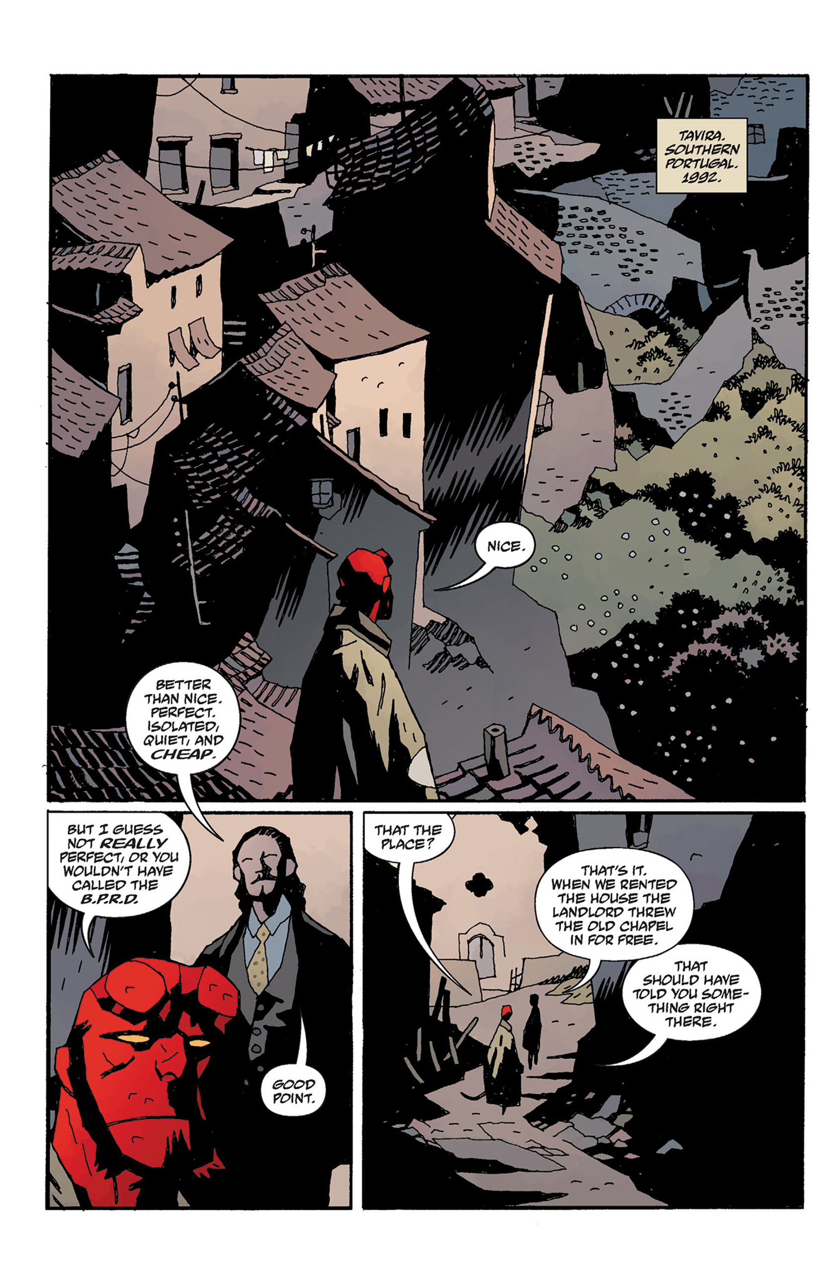 Read online Hellboy: The Crooked Man and Others comic -  Issue # TPB - 110