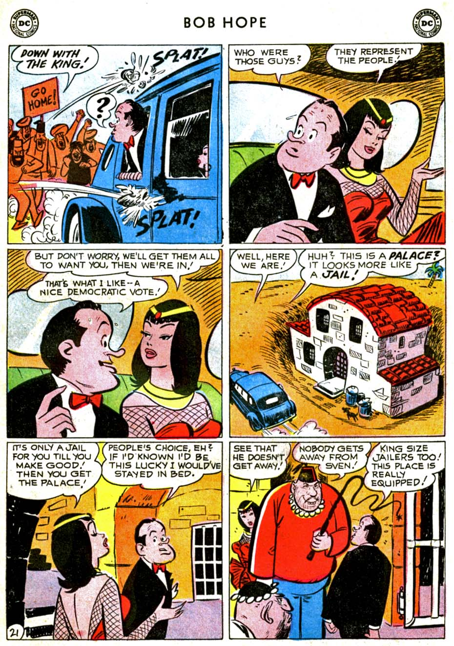 The Adventures of Bob Hope issue 71 - Page 27