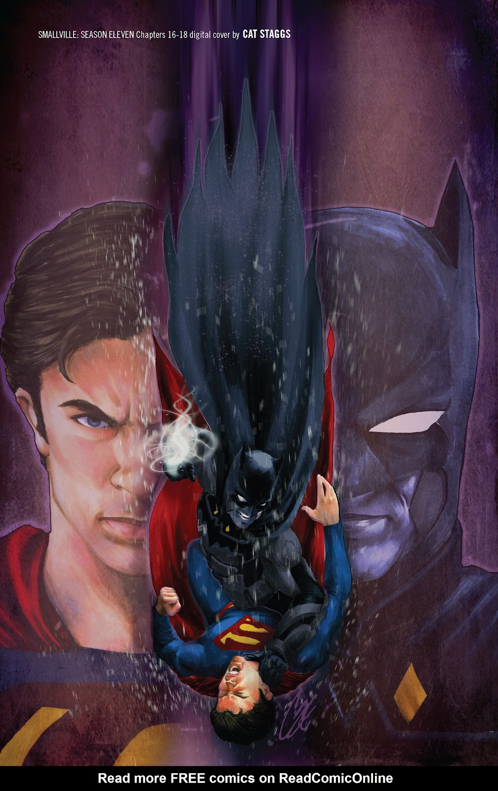 Read online Smallville Season 11 [II] comic -  Issue # TPB 2 - 134