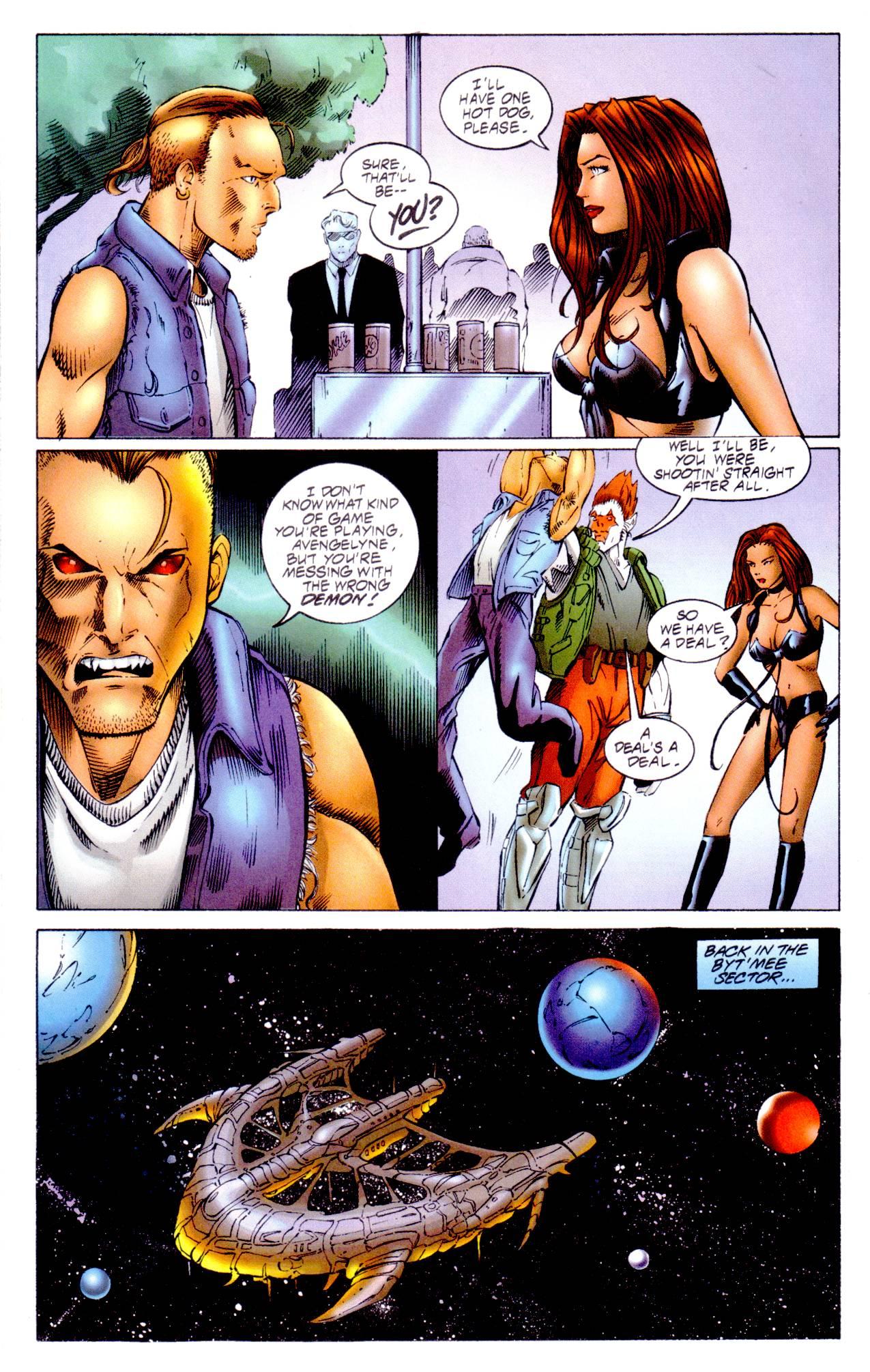 Read online Avengelyne (1996) comic -  Issue #14 - 18