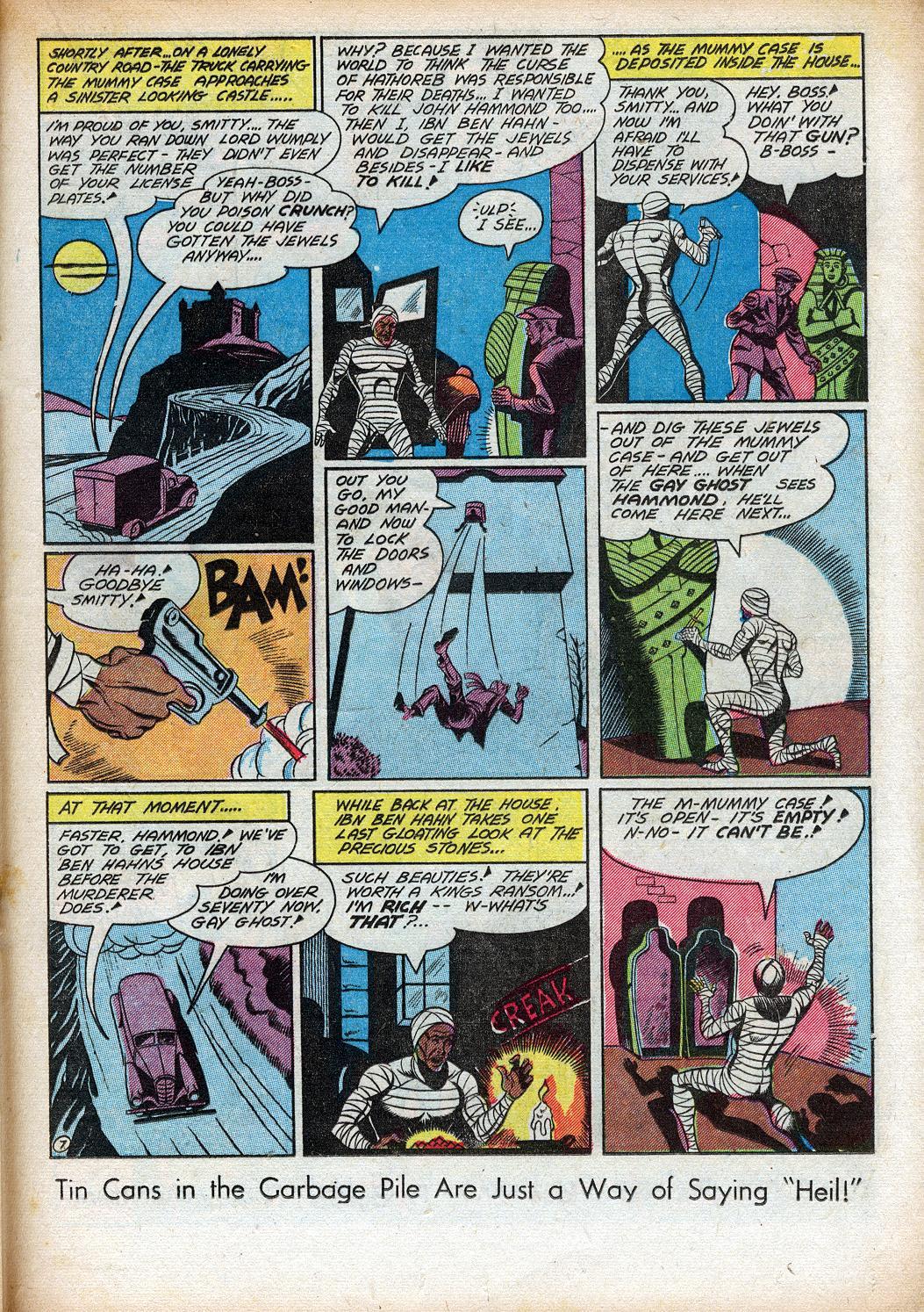 Read online Sensation (Mystery) Comics comic -  Issue #33 - 29