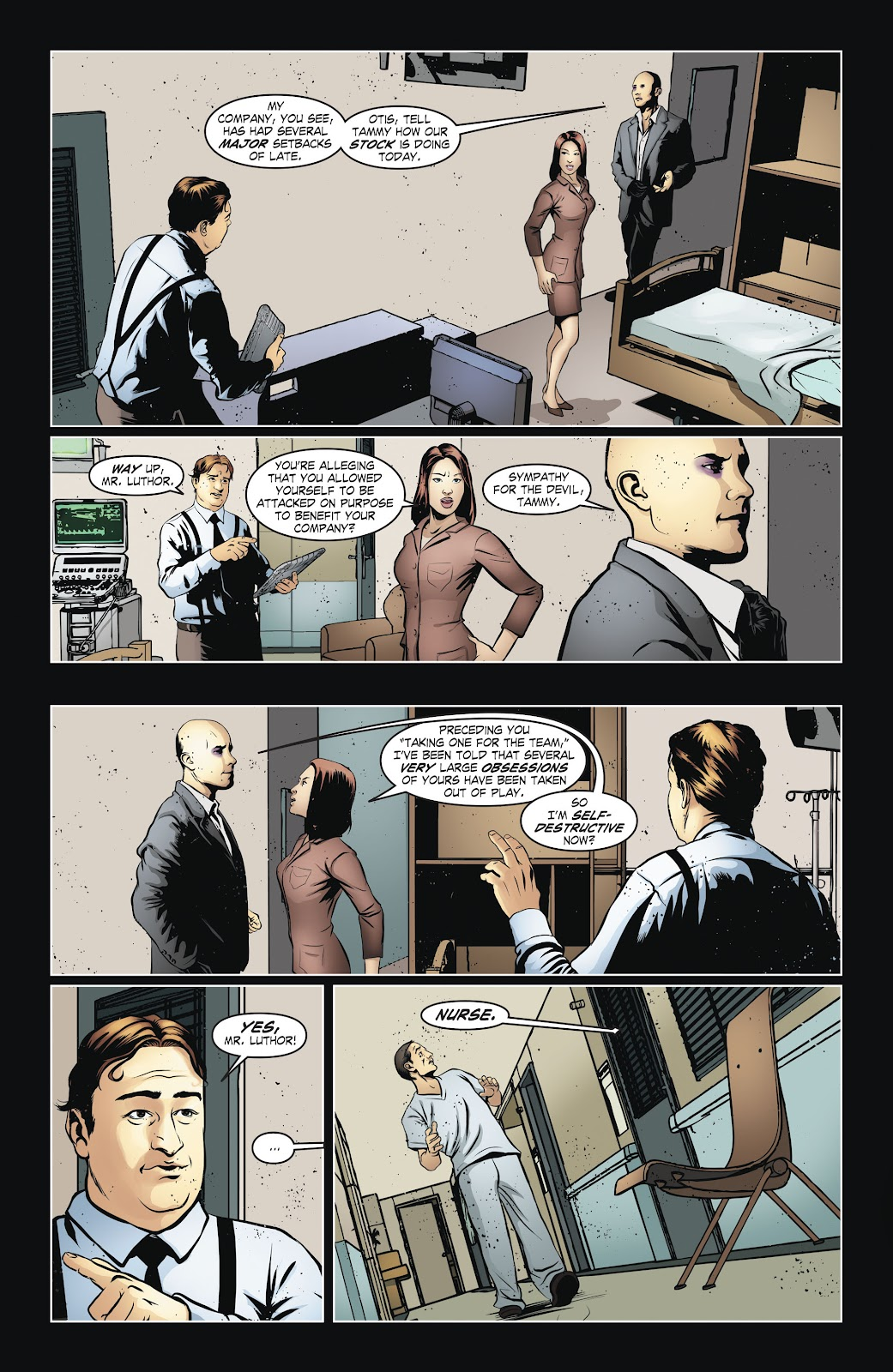 Read online Smallville Season 11 [II] comic -  Issue # TPB 6 - 19