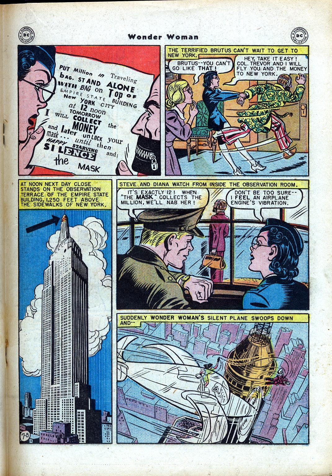 Read online Wonder Woman (1942) comic -  Issue #24 - 27