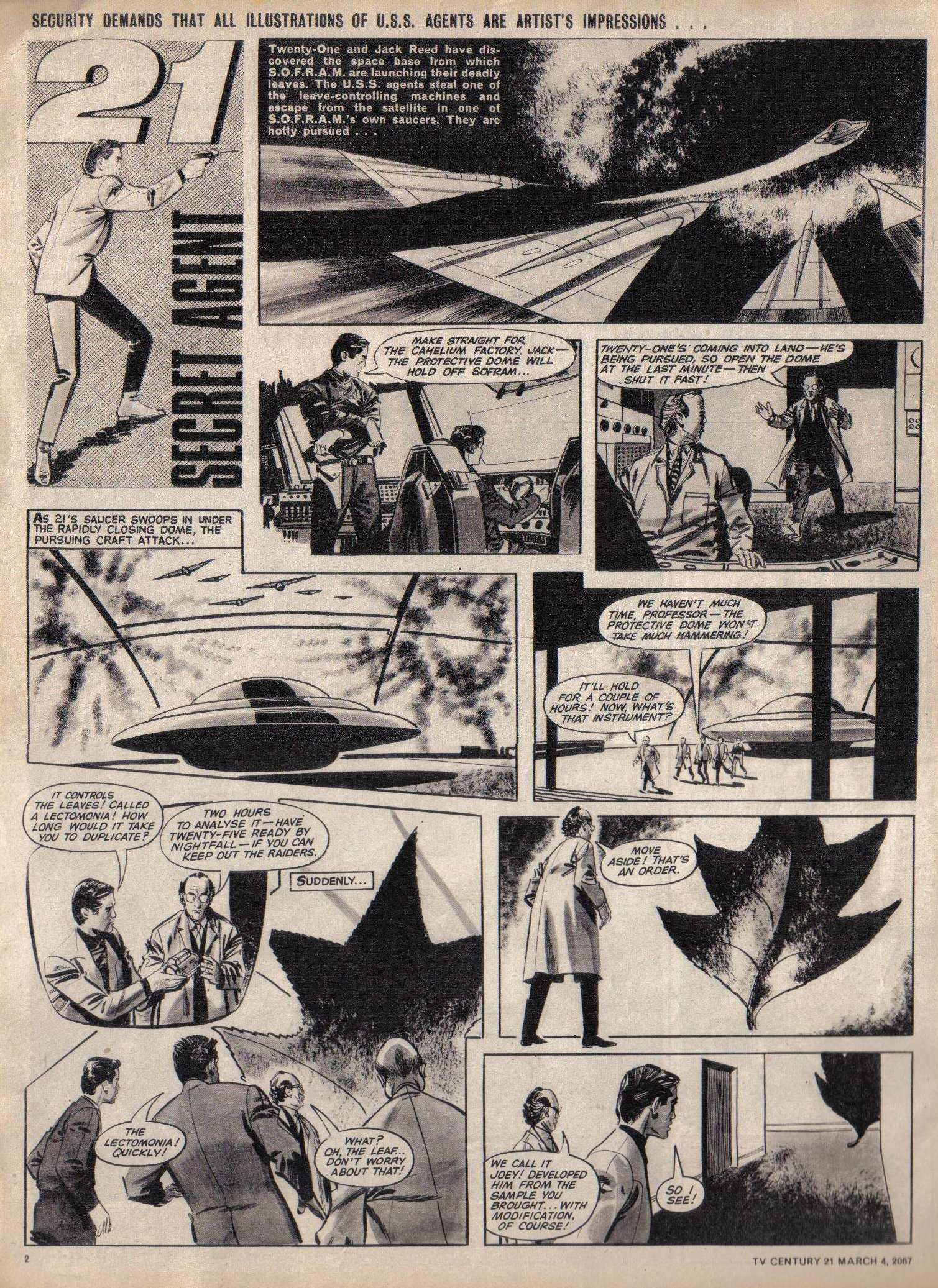 Read online TV Century 21 (TV 21) comic -  Issue #111 - 2