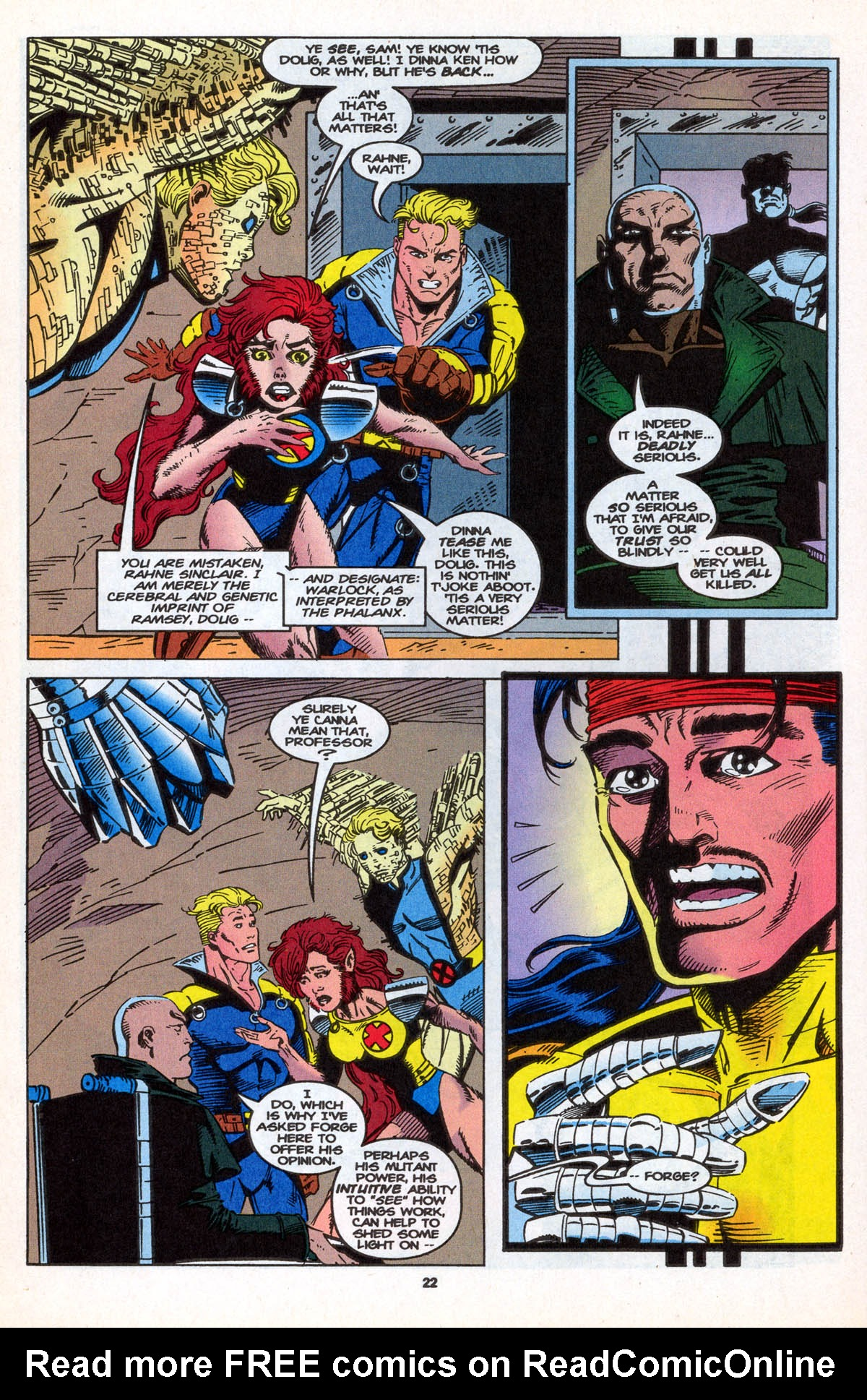 Read online X-Factor (1986) comic -  Issue #106 - 24