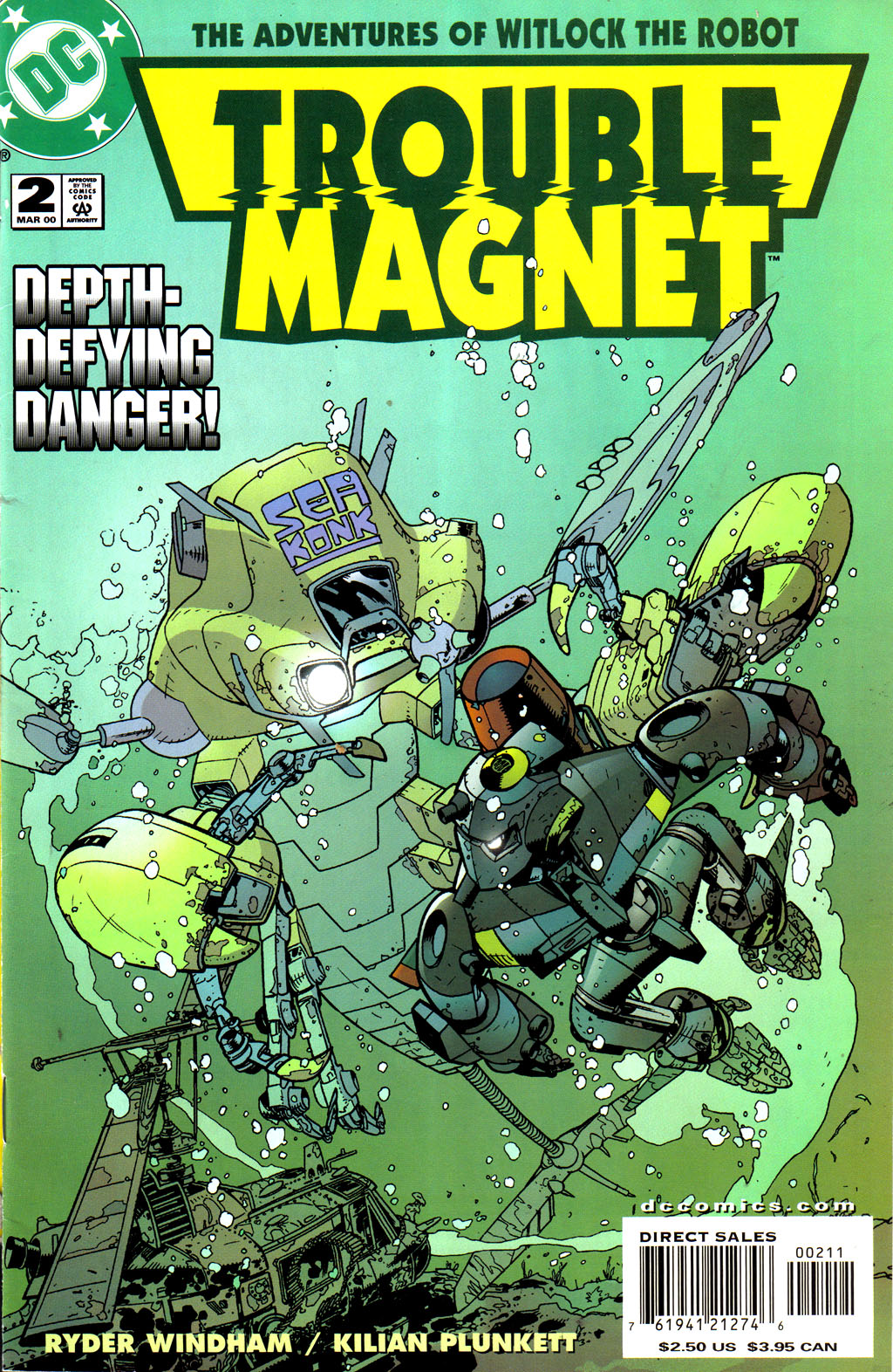 Read online Trouble Magnet comic -  Issue #2 - 1