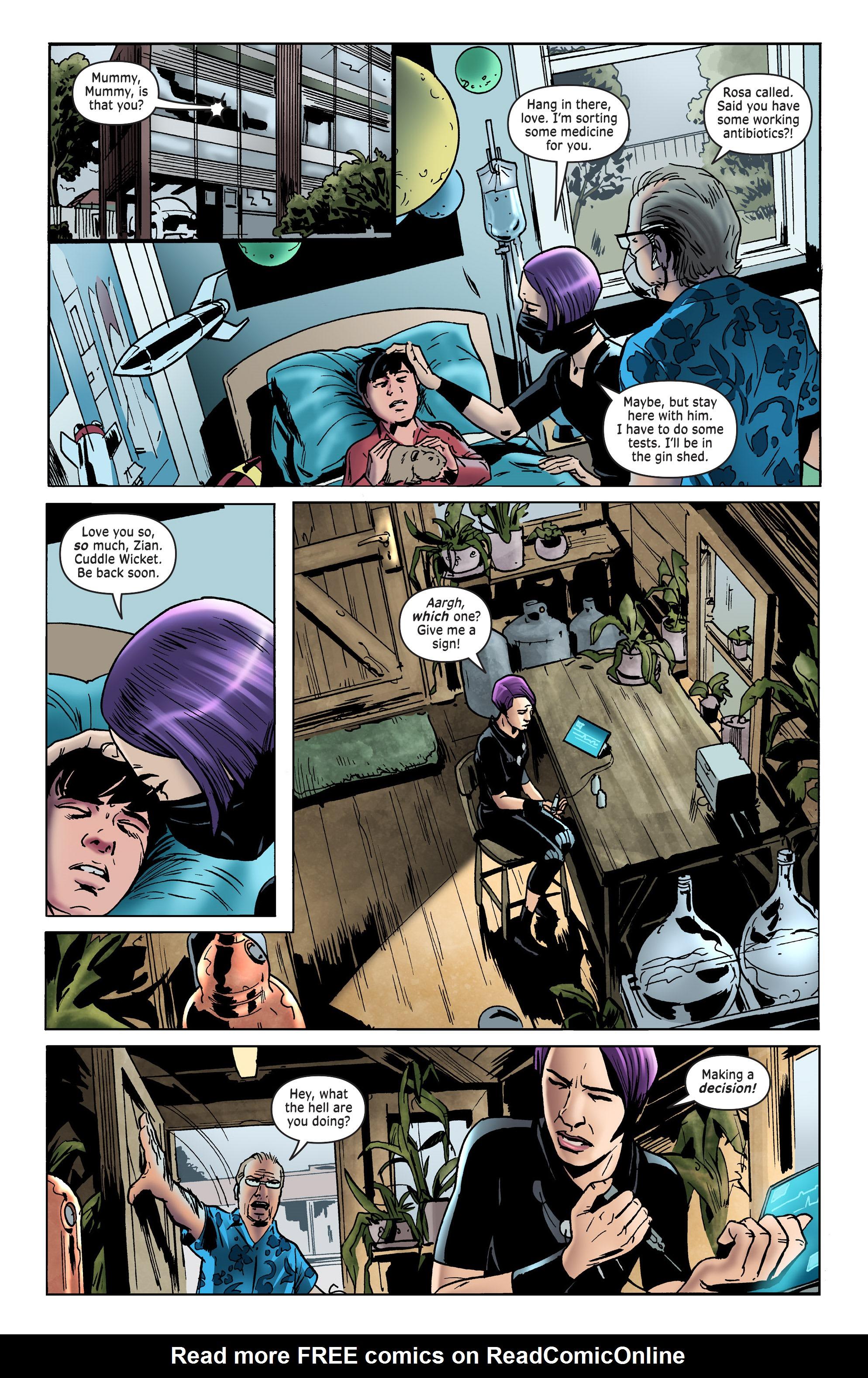 Read online Surgeon X Special: Trial & Error comic -  Issue # Full - 9