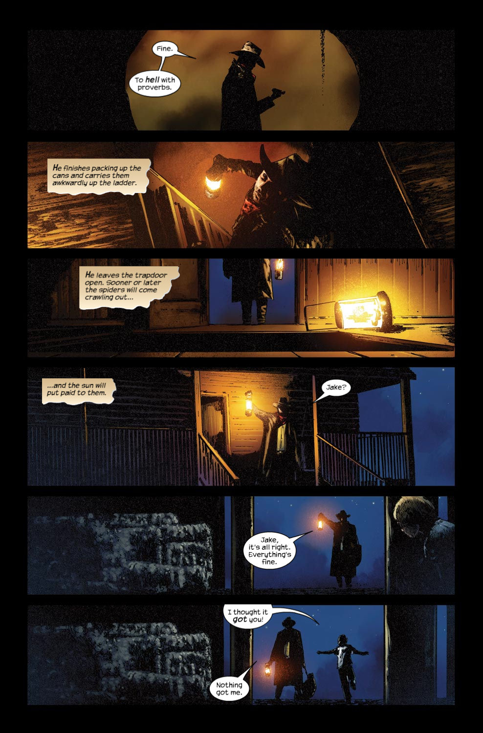 Read online Dark Tower: The Gunslinger - The Way Station comic -  Issue #3 - 19