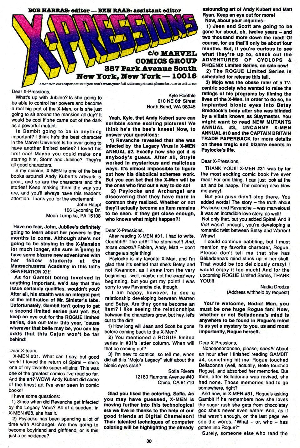X-Men (1991) 34 Page 20