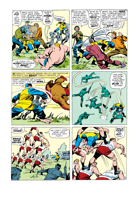 Read online Uncanny X-Men (1963) comic -  Issue #3 - 21