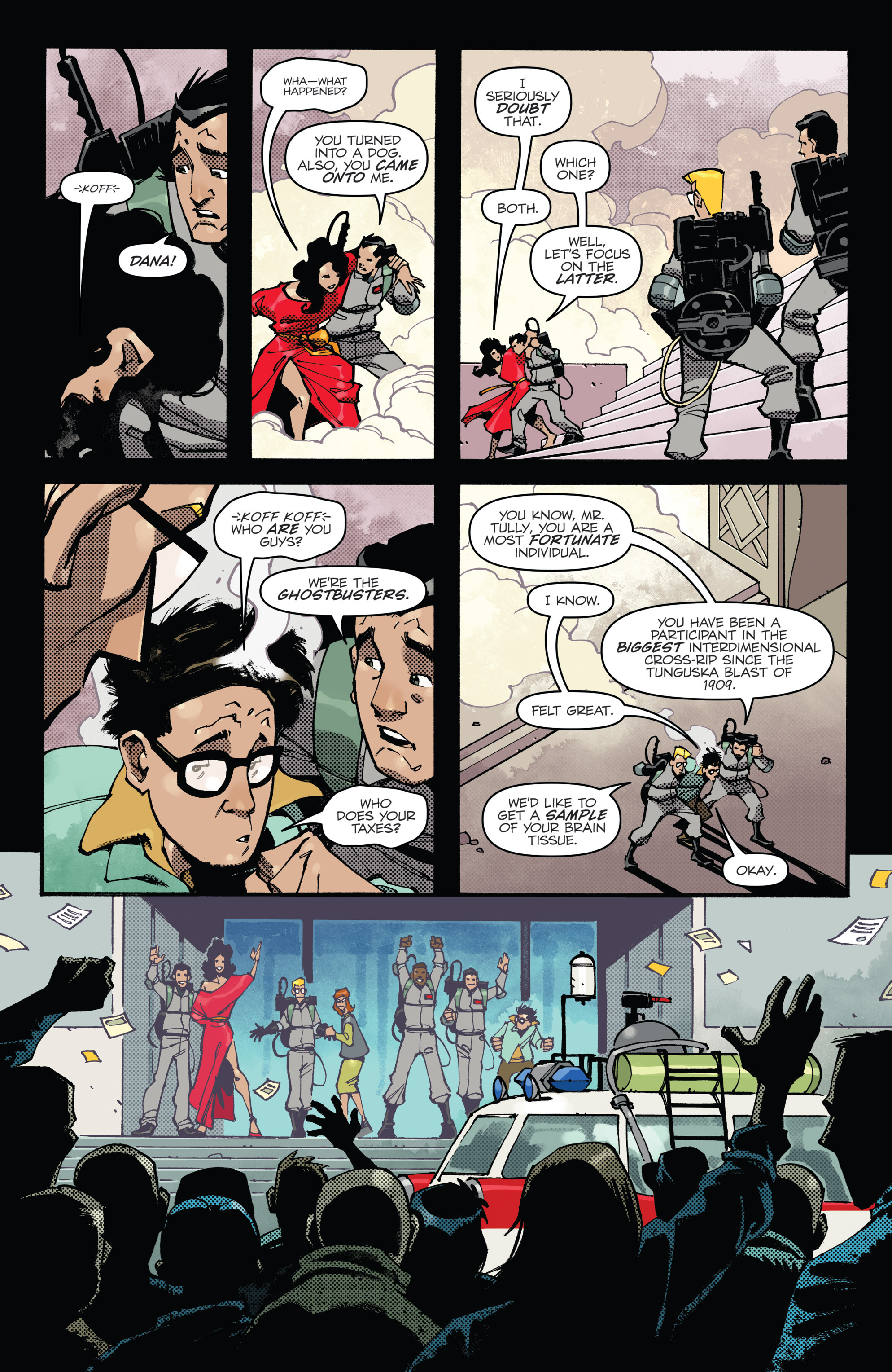 Read online Ghostbusters: Deviations comic -  Issue #1 - 25