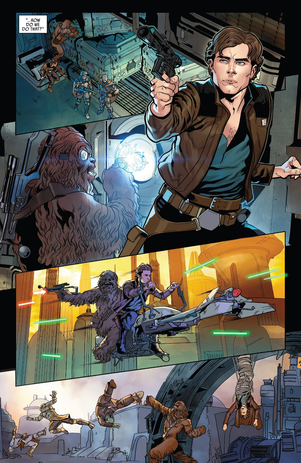 Read online Solo: A Star Wars Story Adaptation comic -  Issue #7 - 16