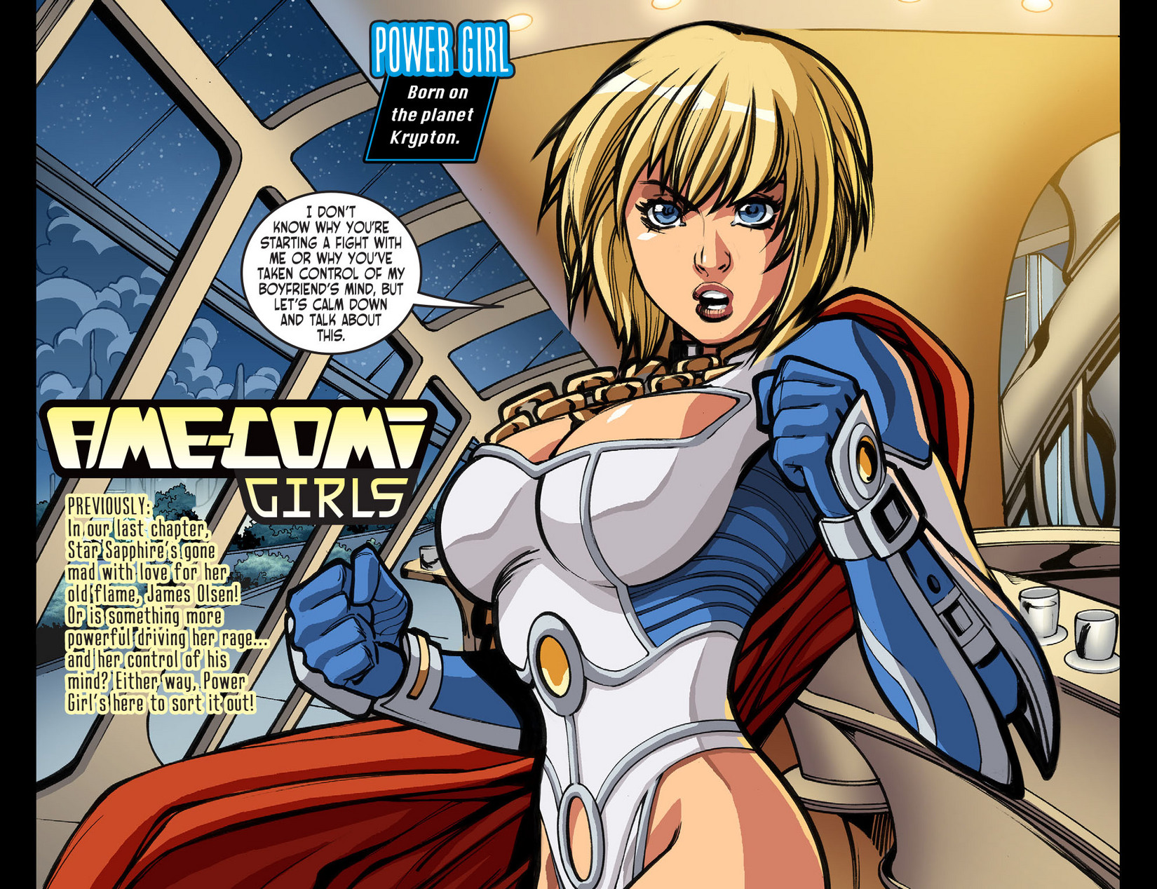 Read online Ame-Comi Girls comic -  Issue #10 - 3