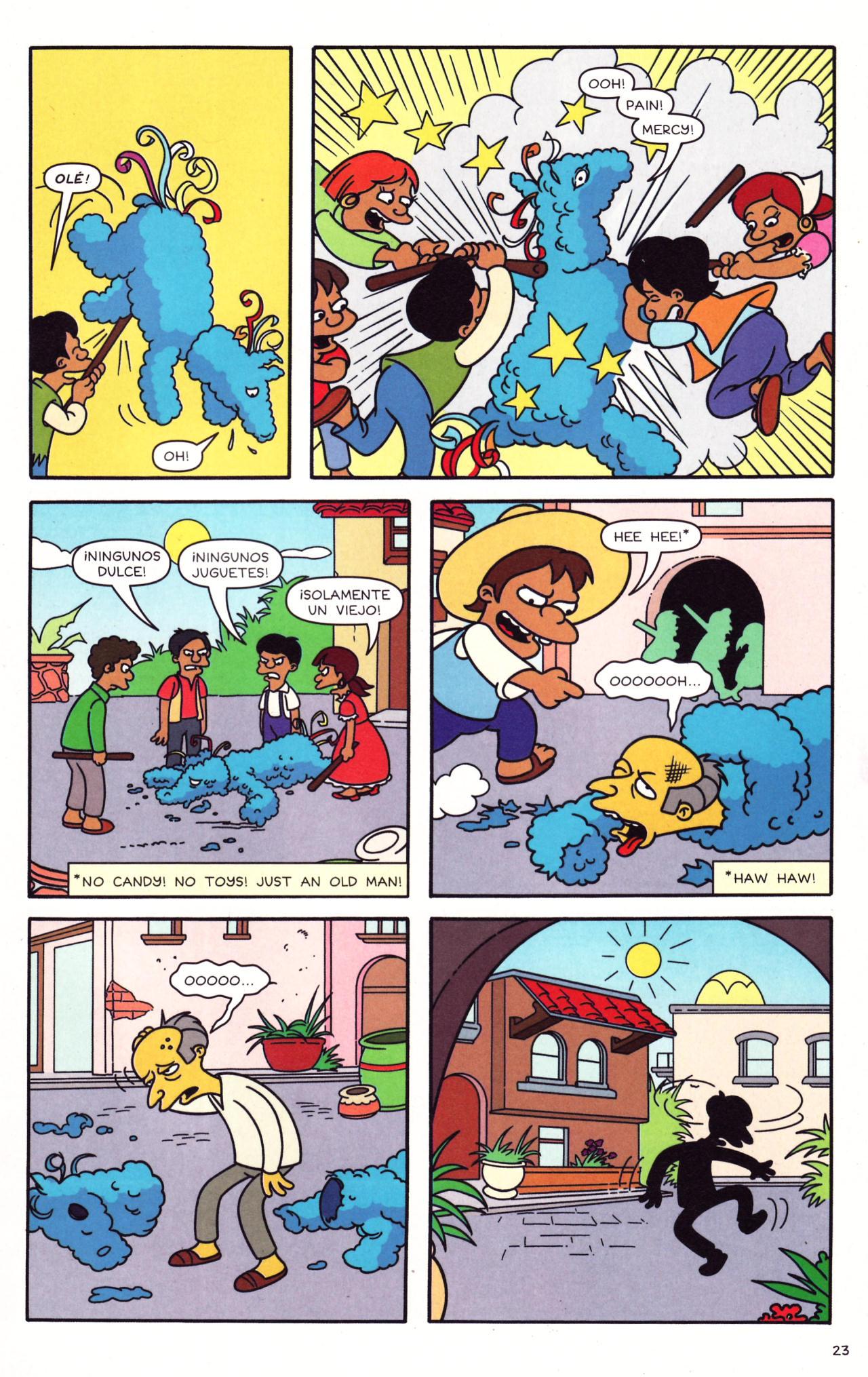 Read online Simpsons Comics comic -  Issue #133 - 18