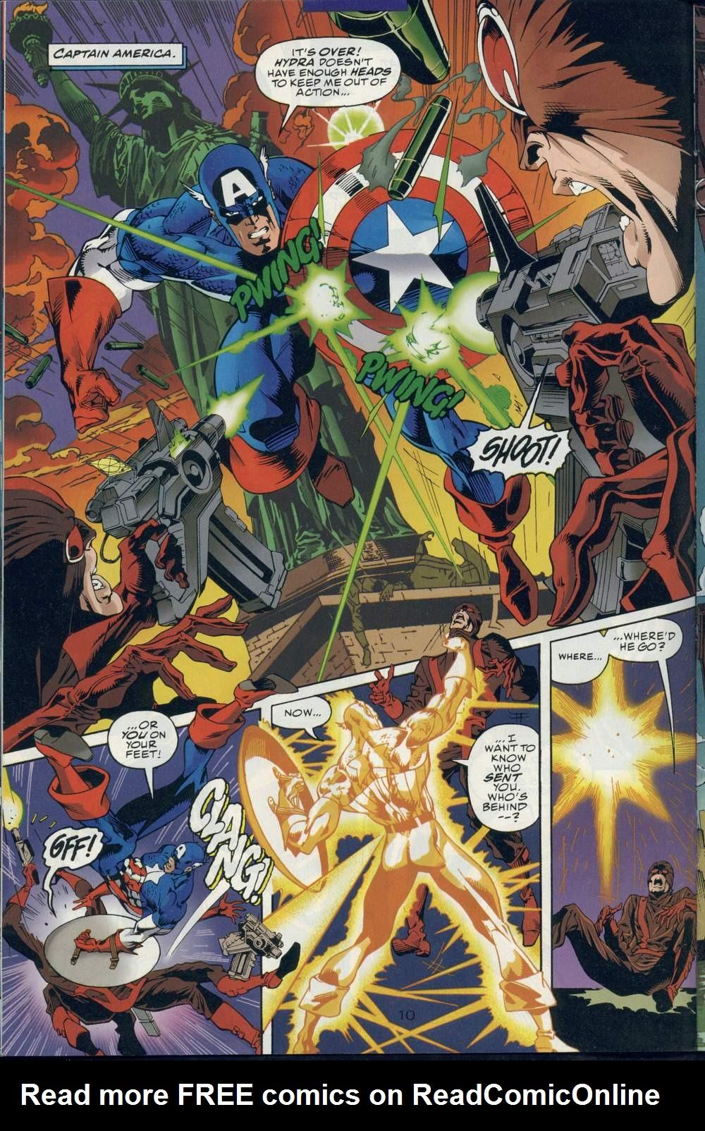 Read online DC Versus Marvel Comics comic -  Issue #1 - 12
