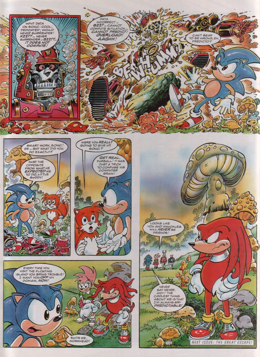 Read online Sonic the Comic comic -  Issue #54 - 9