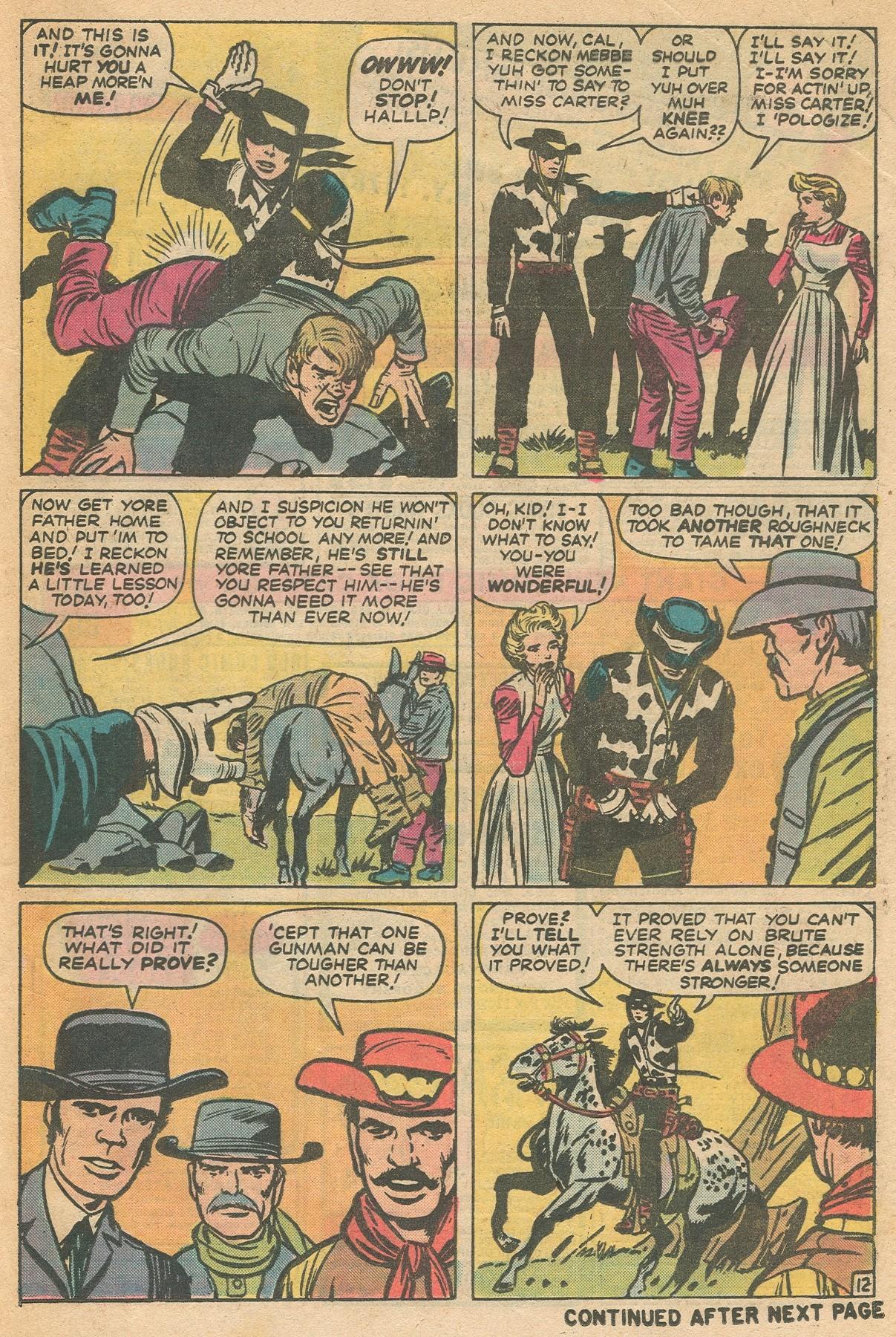 Read online Two-Gun Kid comic -  Issue #130 - 21