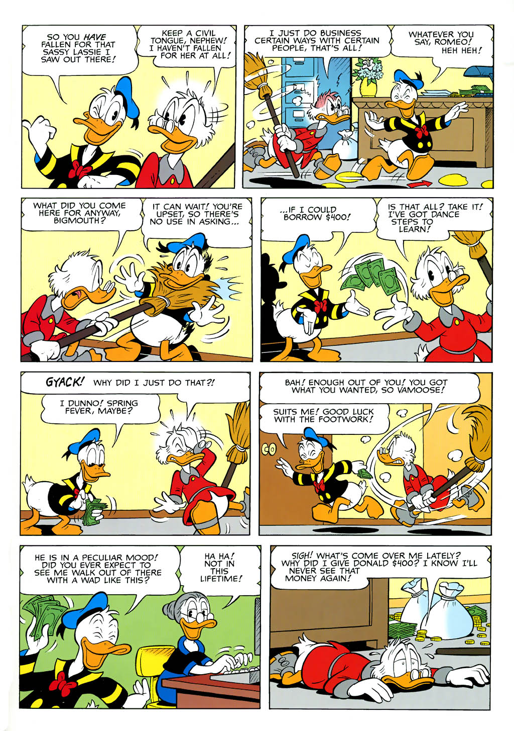 Read online Uncle Scrooge (1953) comic -  Issue #321 - 22