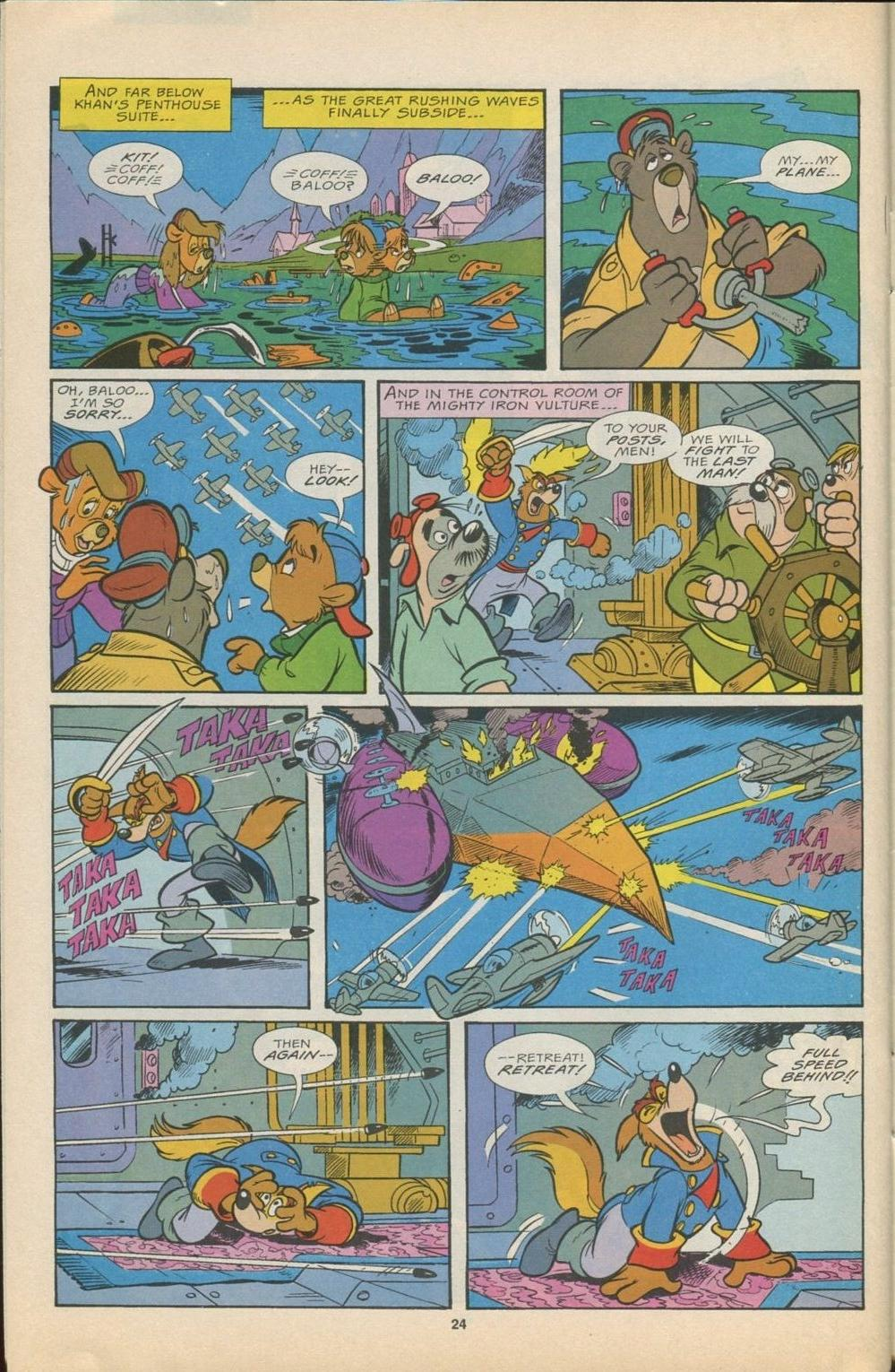 Read online Disney's Tale Spin Limited Series: ''Take Off'' comic -  Issue #4 - 25