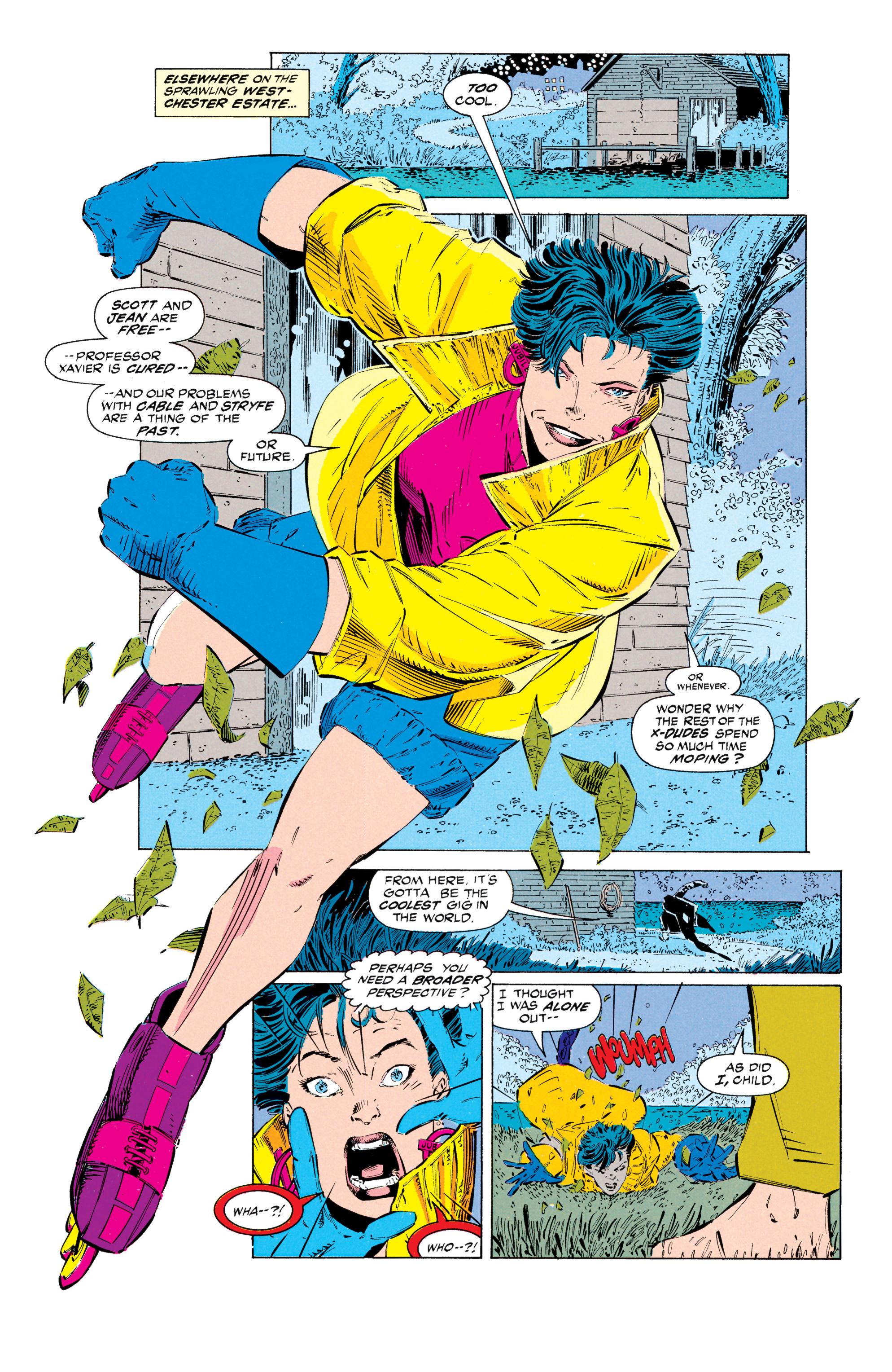 Read online Uncanny X-Men (1963) comic -  Issue #297 - 6