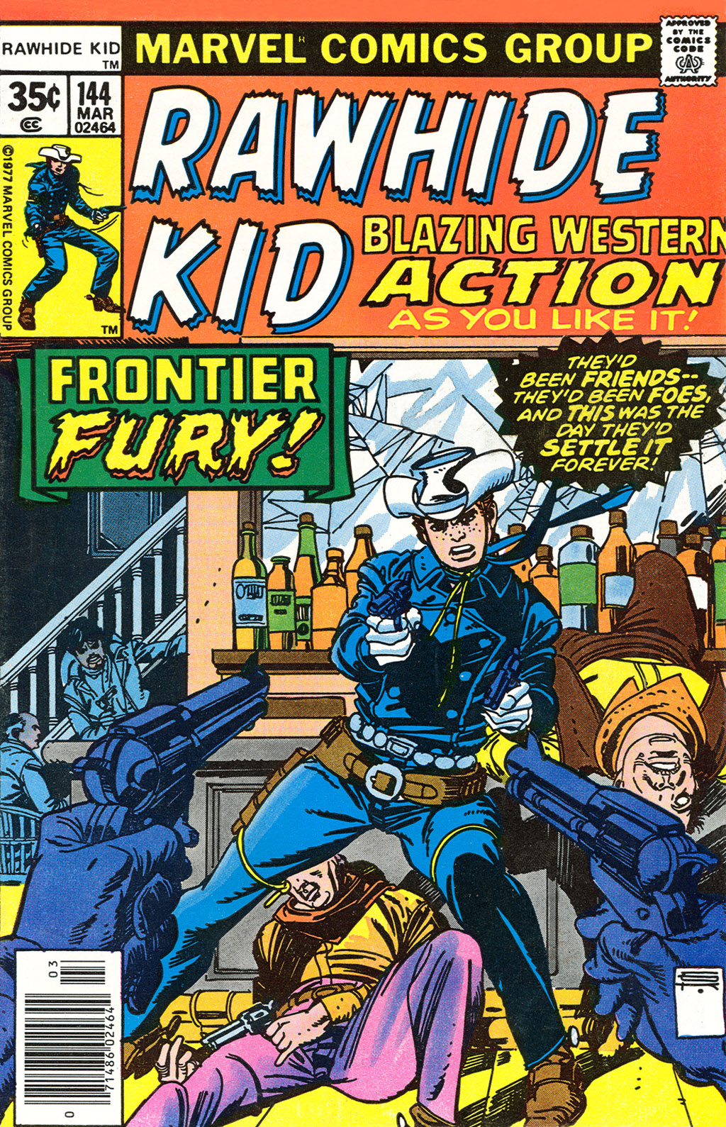 The Rawhide Kid (1955) issue 144 - Page 1
