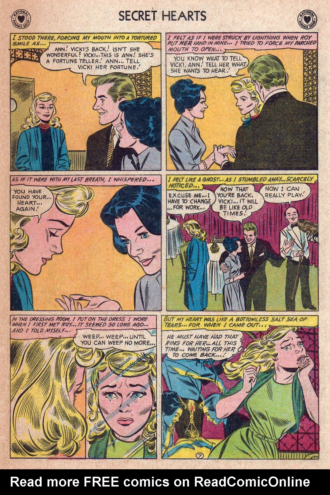 Read online Secret Hearts comic -  Issue #73 - 33