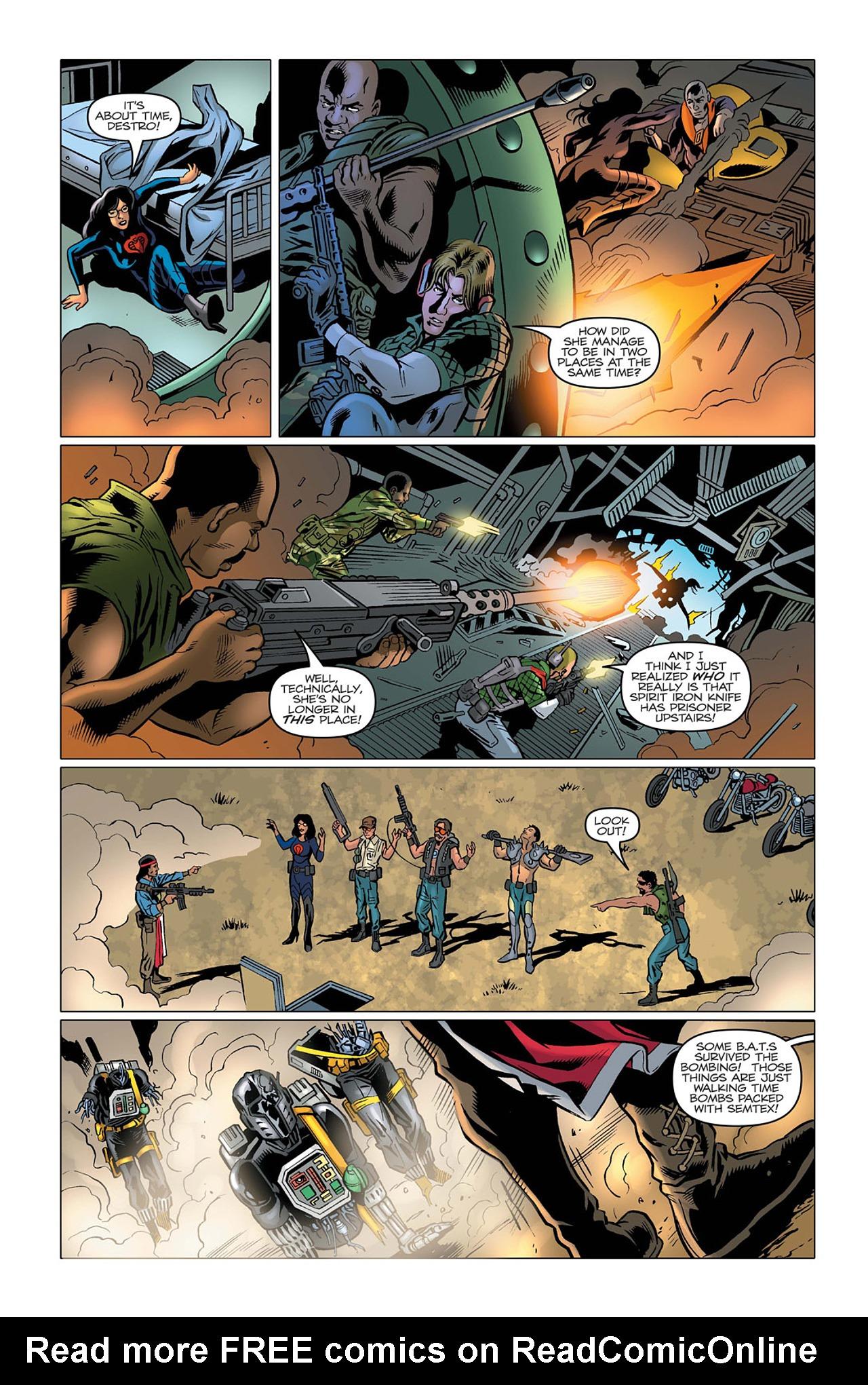 G.I. Joe: A Real American Hero 164 Page 21