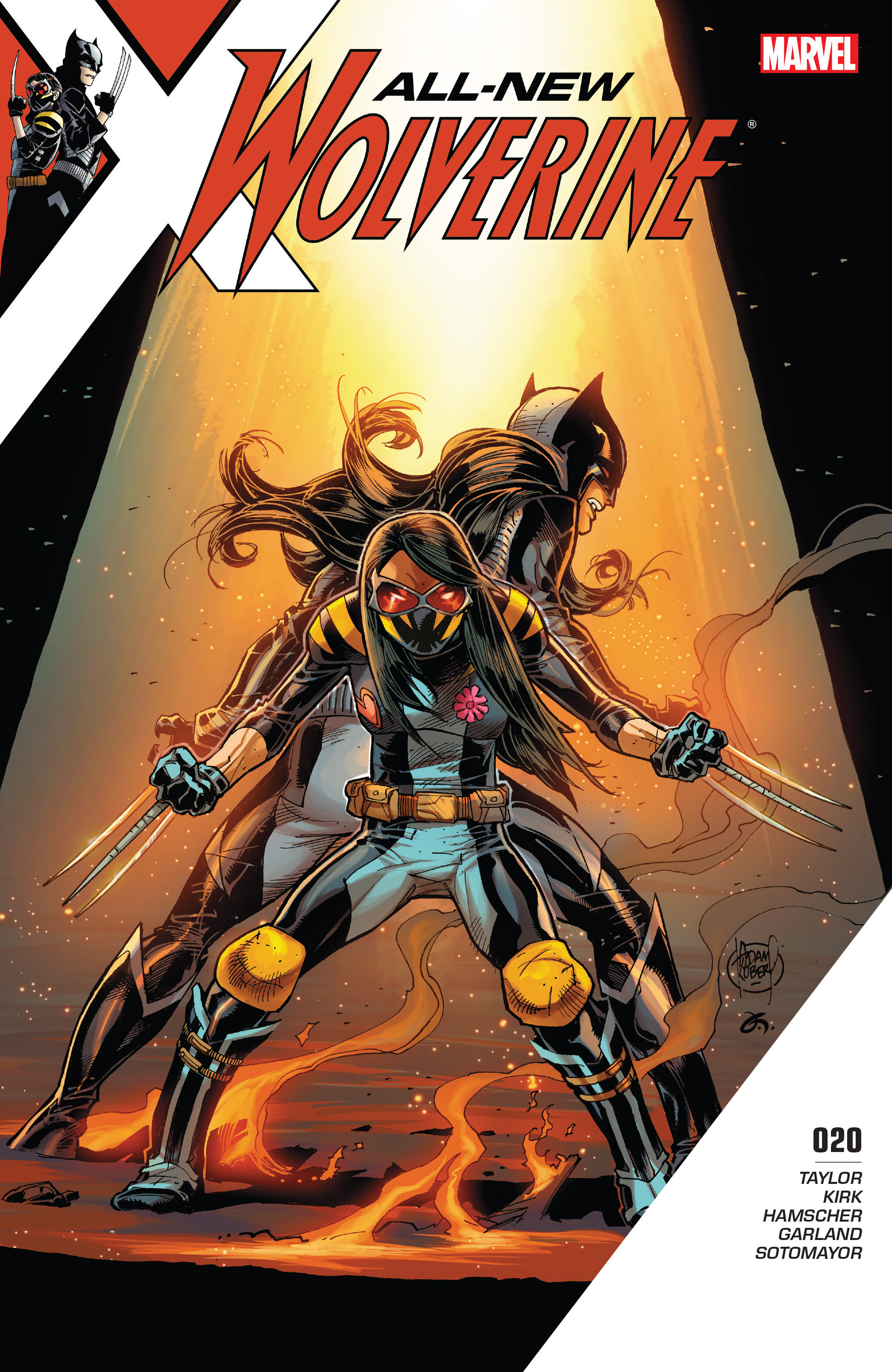 Read online All-New Wolverine (2016) comic -  Issue #20 - 1