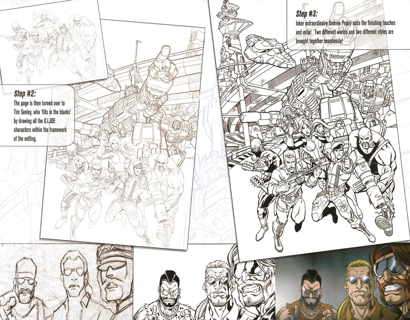 G.I. Joe vs. The Transformers II Issue #0 #1 - English 9