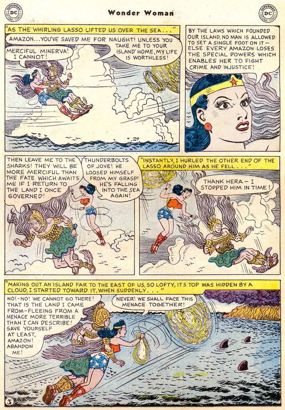 Read online Wonder Woman (1942) comic -  Issue #91 - 18
