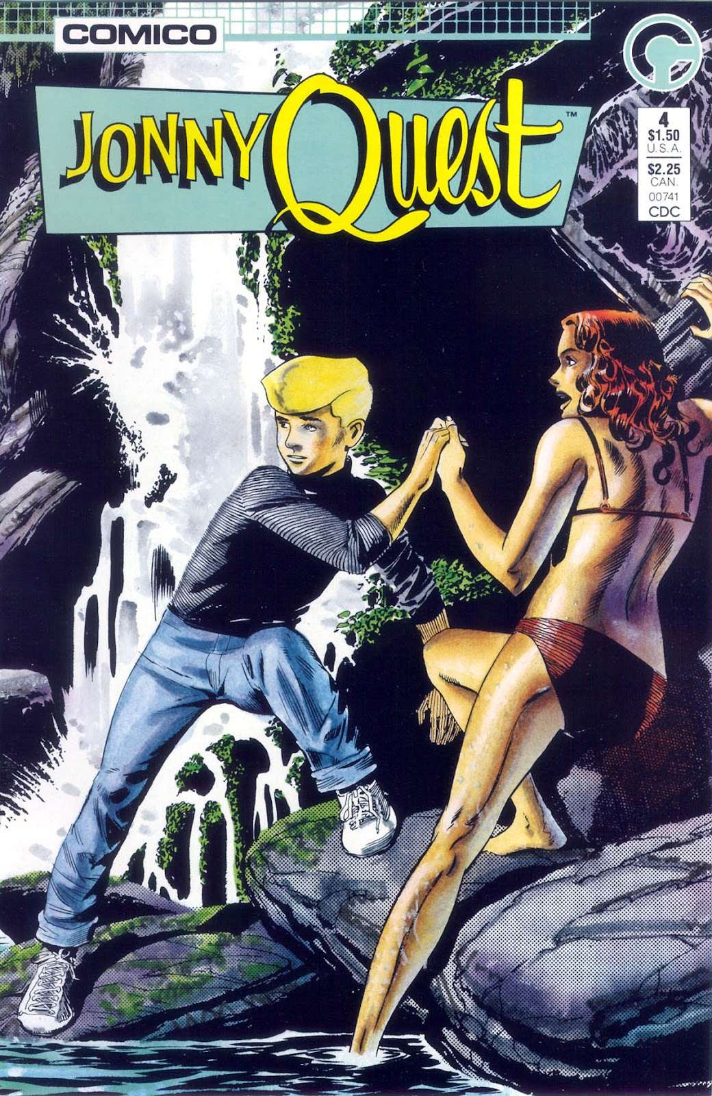 Jonny Quest (1986) issue 4 - Page 1